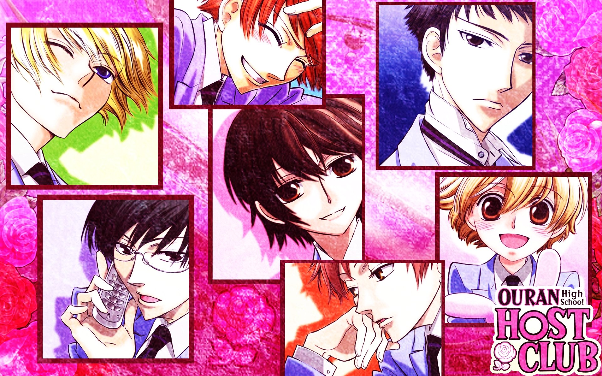 High resolution Ouran Highschool Host Club hd 1920x1200 background ID:162916 for computer