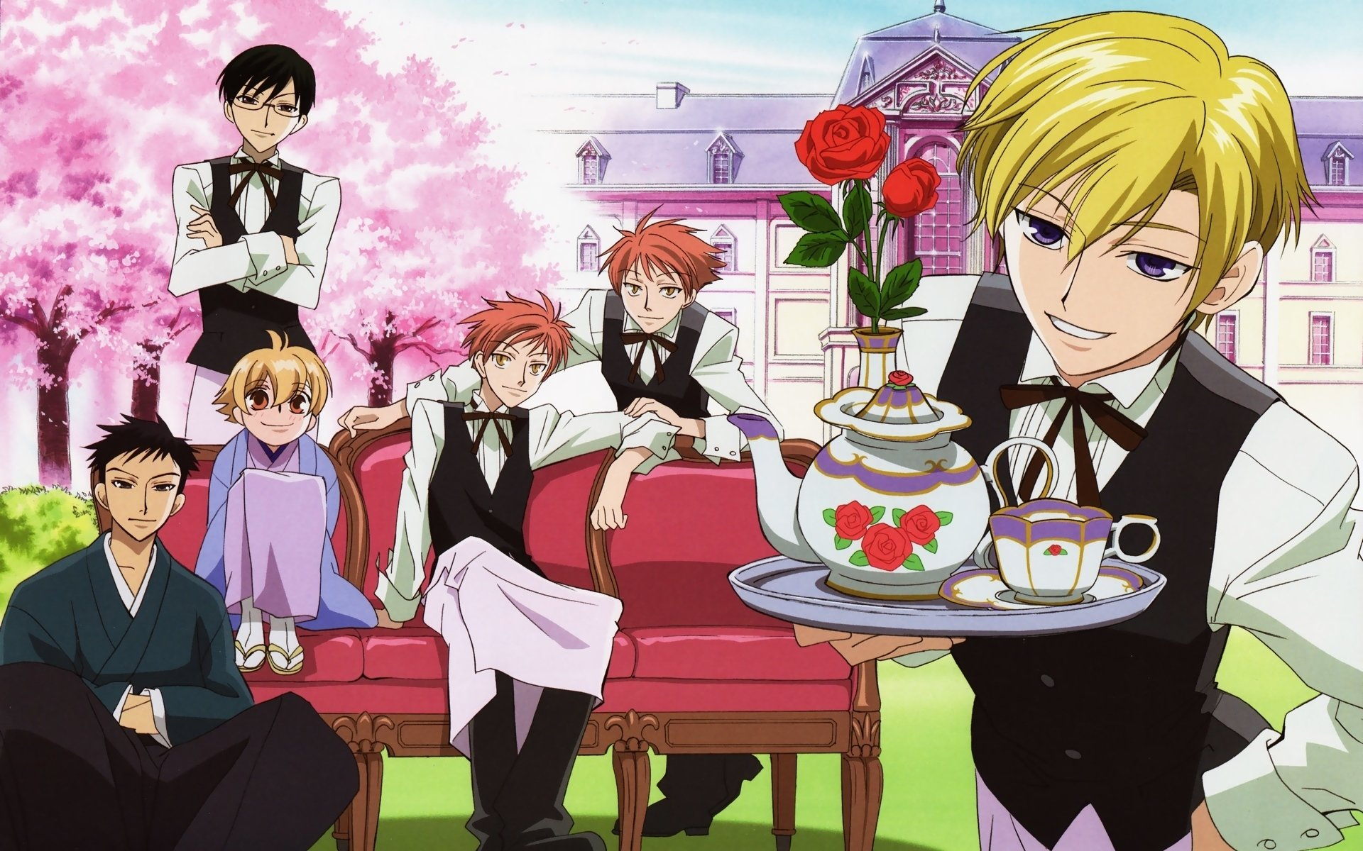 Best Ouran Highschool Host Club background ID:162927 for High Resolution hd 1920x1200 PC