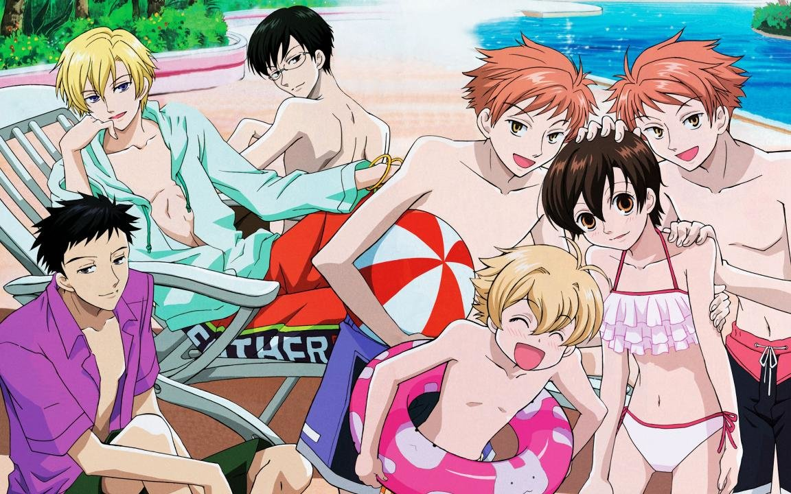 Free download Ouran Highschool Host Club wallpaper ID:162910 hd 1152x720 for computer