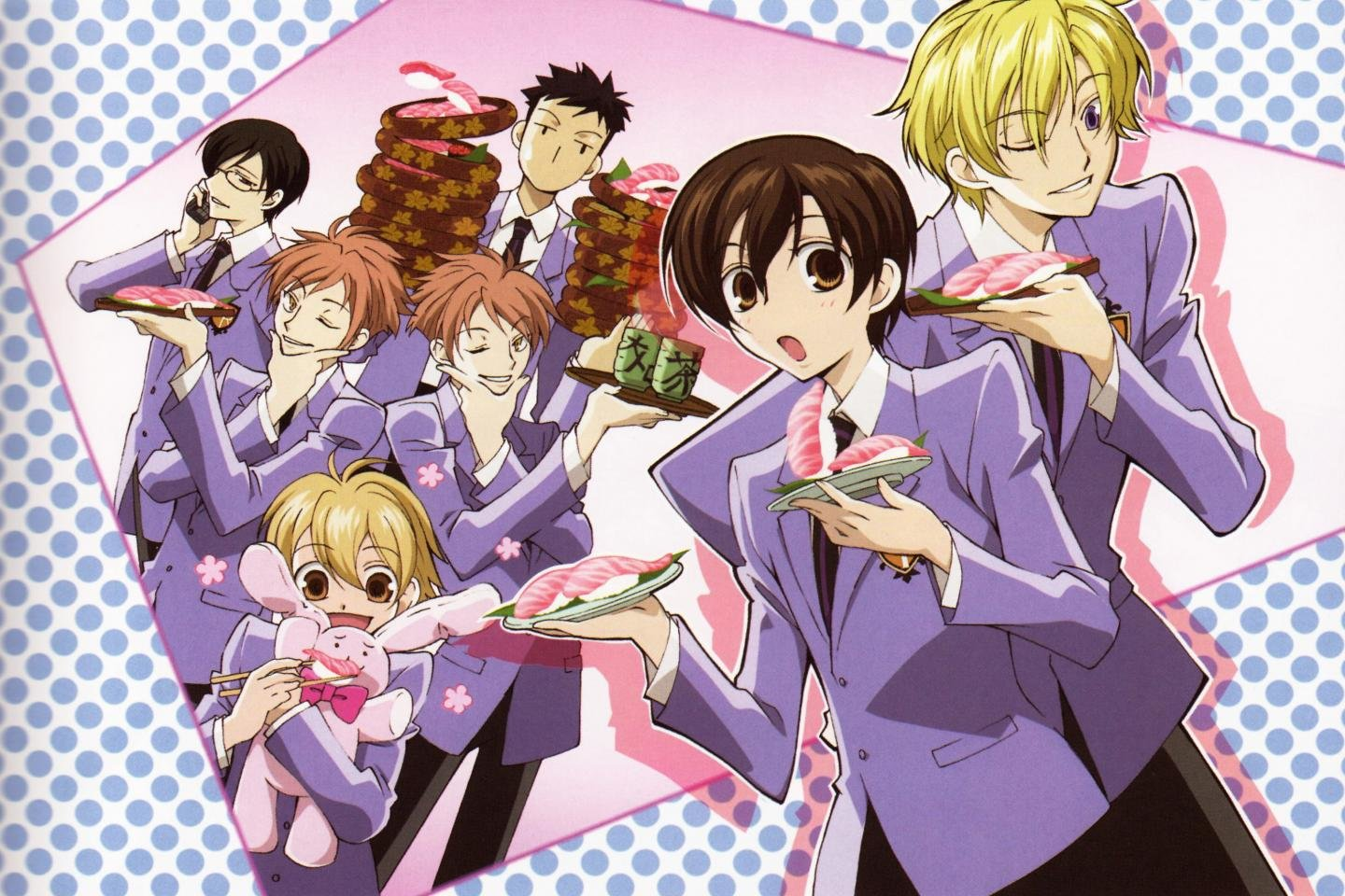 High resolution Ouran Highschool Host Club hd 1440x960 wallpaper ID:162926 for desktop