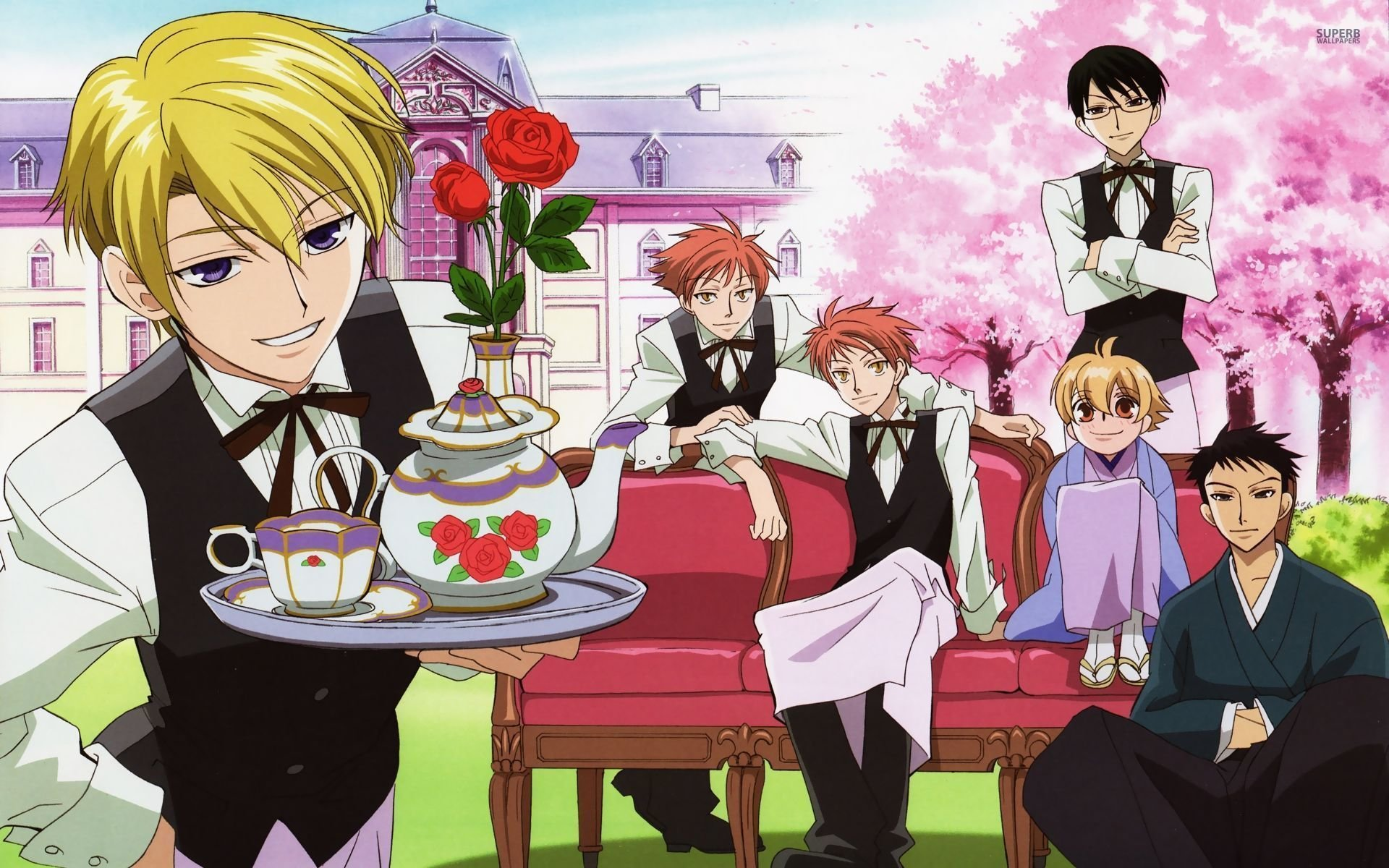 Free download Ouran Highschool Host Club wallpaper ID:162919 hd 1920x1200 for PC