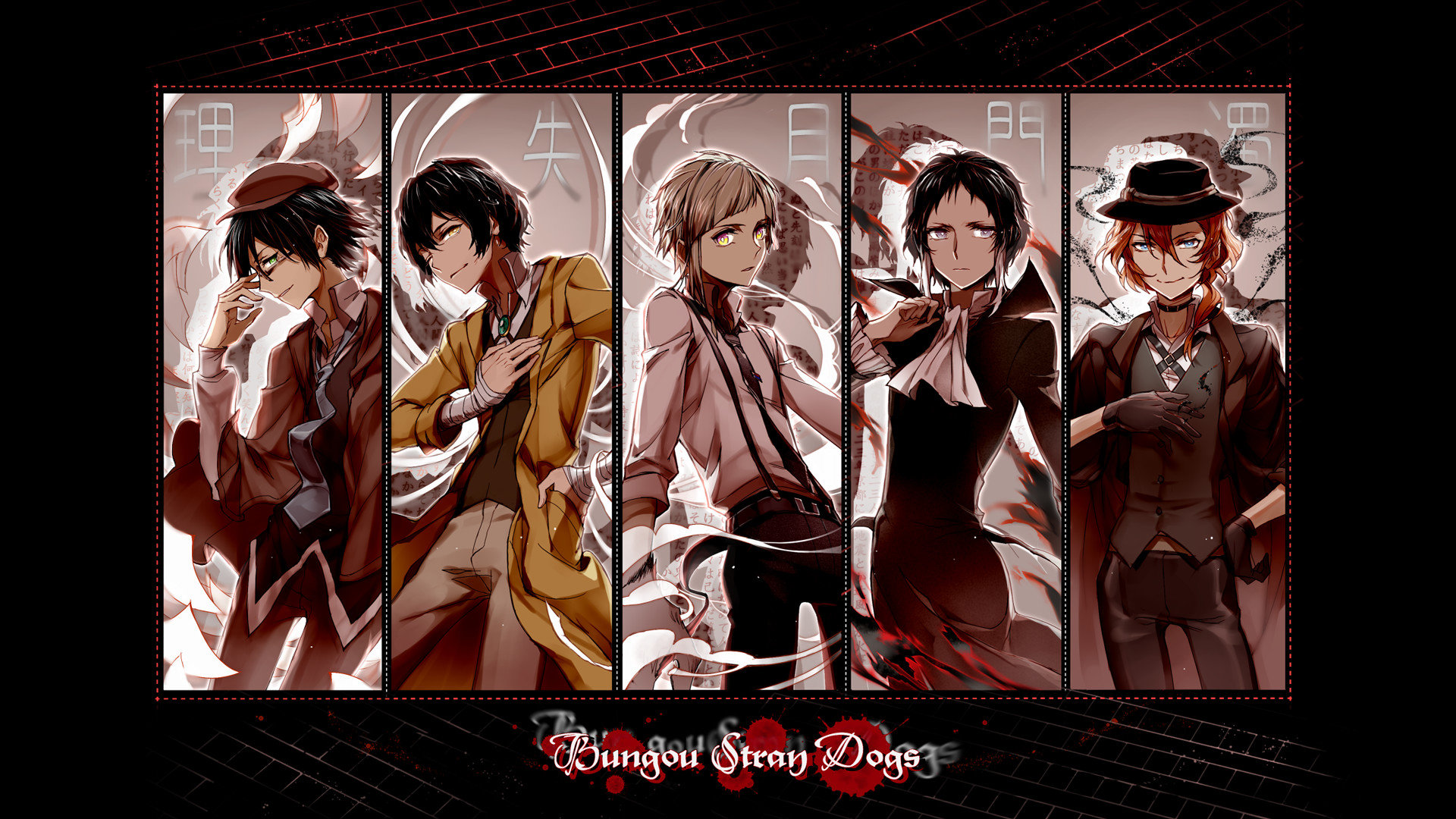 Best Bungou Stray Dogs (BSD) background ID:151502 for High Resolution hd 1080p computer