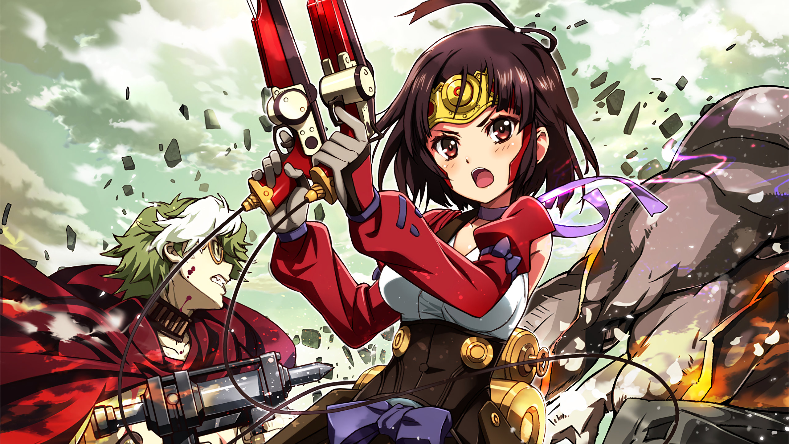 Awesome Kabaneri Of The Iron Fortress free wallpaper ID:116906 for hd 2560x1440 PC