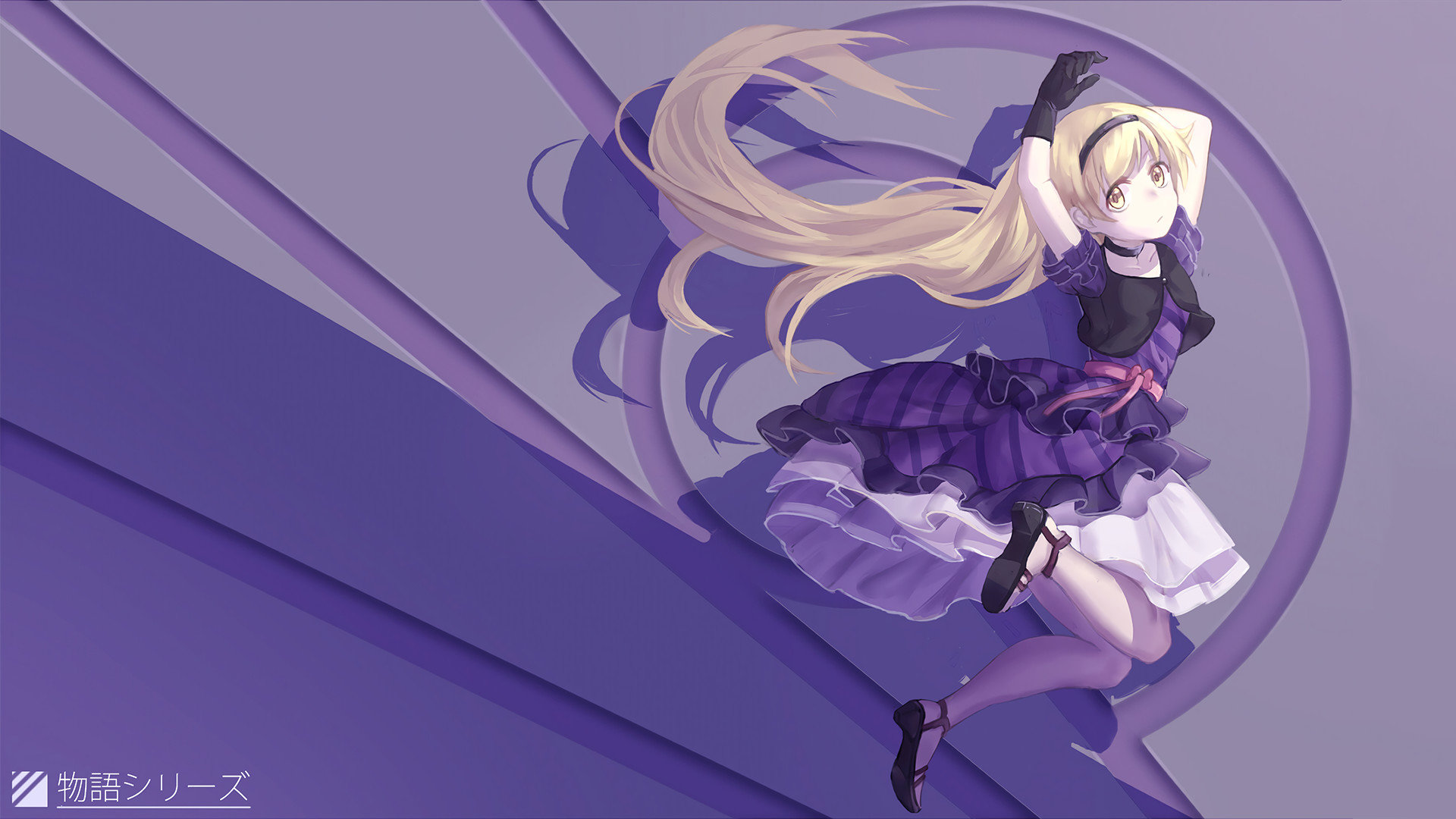 Download hd 1920x1080 Monogatari (Series) desktop wallpaper ID:108577 for free