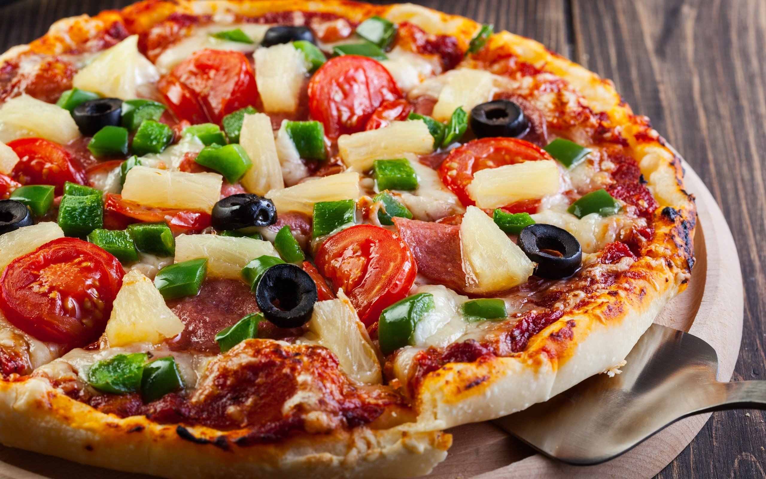 Download hd 2560x1600 Pizza PC wallpaper ID:390146 for free