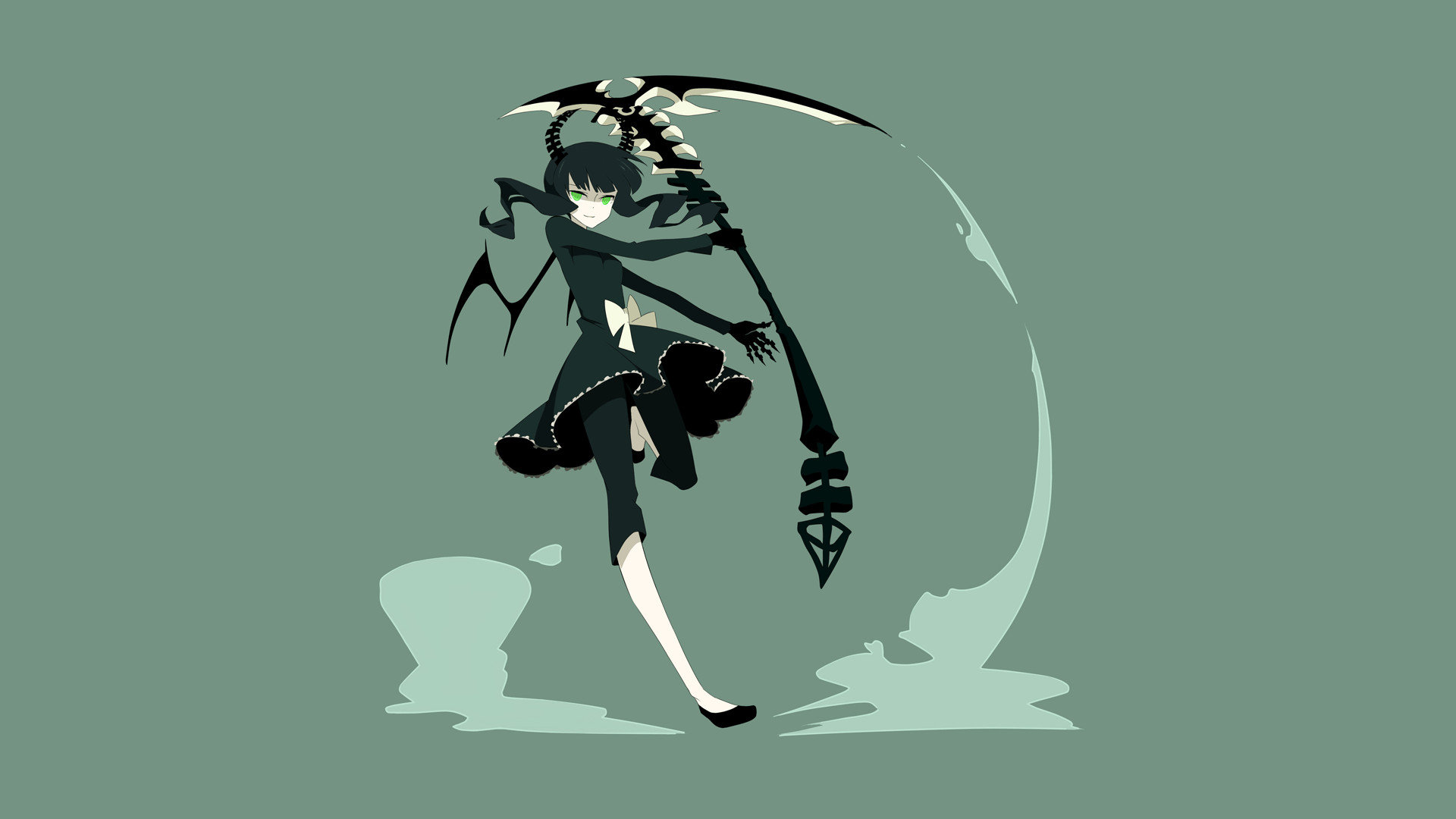 Awesome Dead Master (Black Rock Shooter) free wallpaper ID:453920 for hd 1920x1080 PC