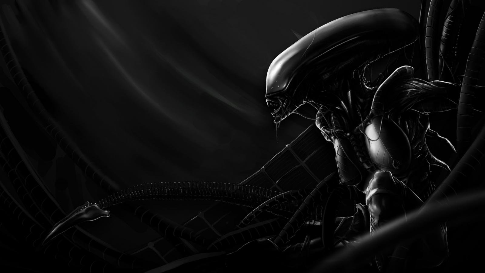 Awesome Alien Movie free wallpaper ID:25290 for hd 1600x900 PC