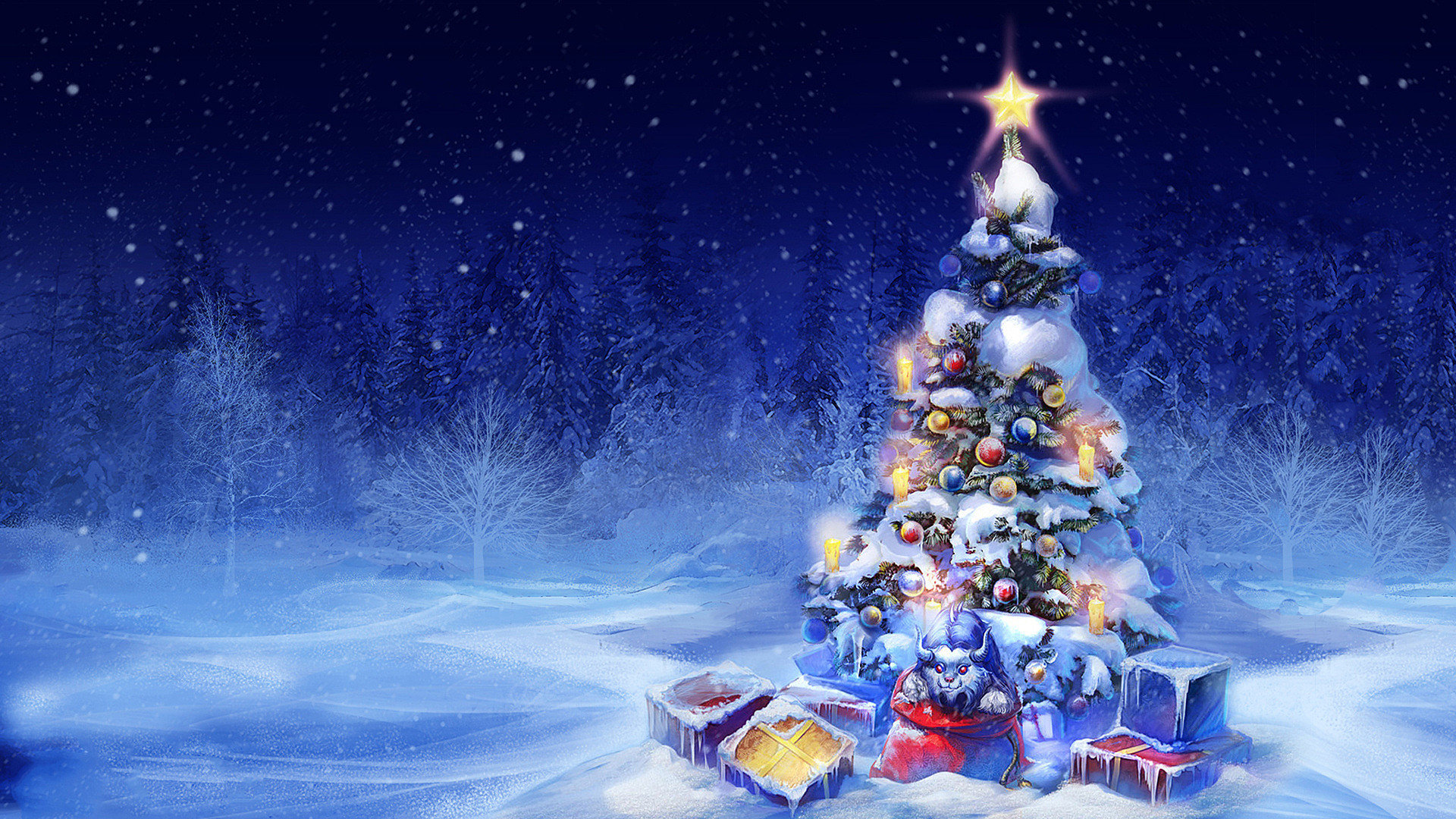 Christmas Background Hd Images.High Resolution Christmas Hd 1080p Background Id 435061 For Pc
