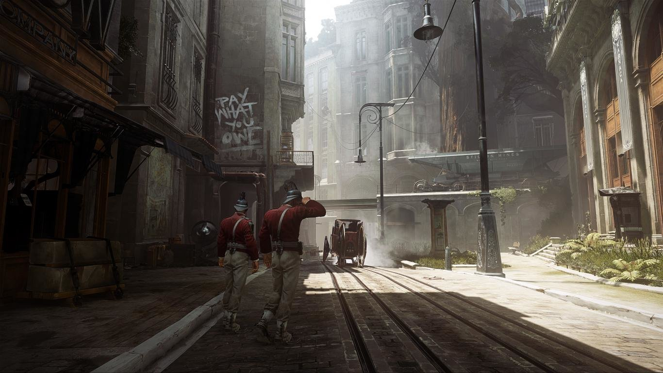 Awesome Dishonored 2 Free Wallpaper Id389730 For Hd 1366x768 Computer