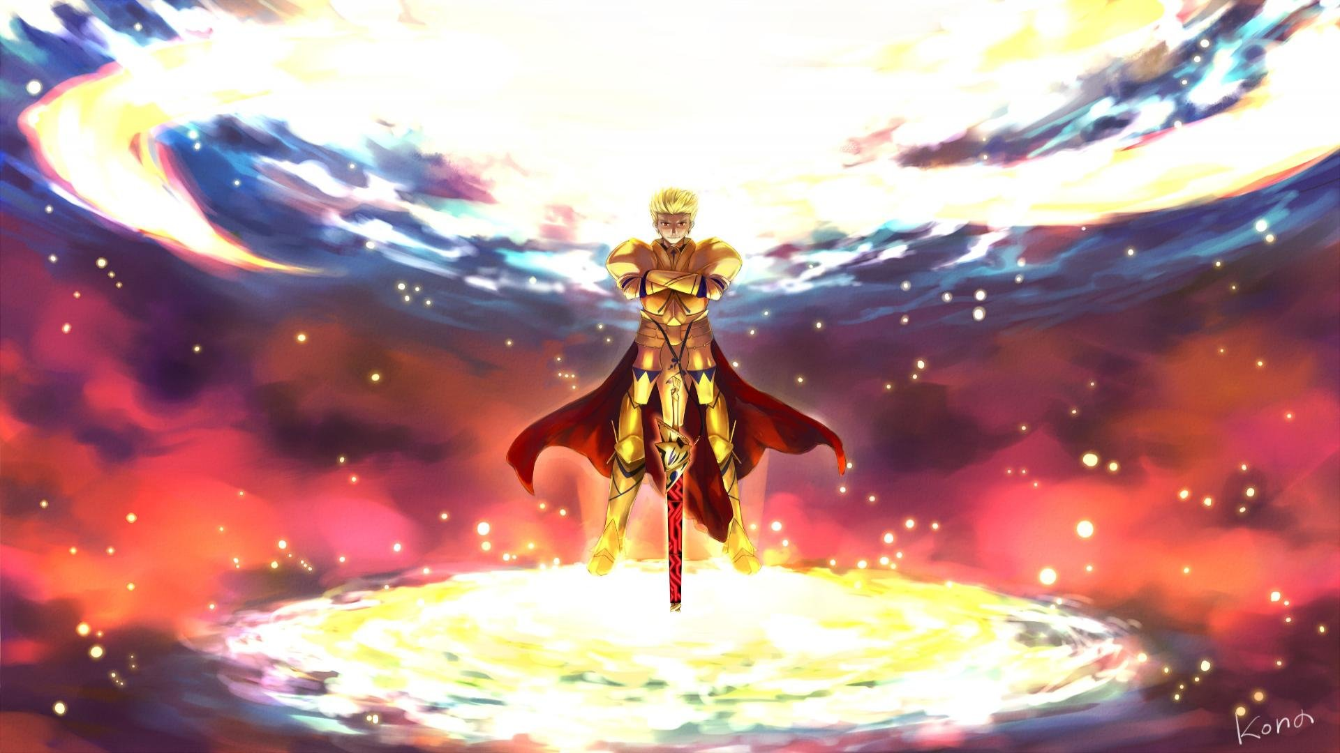 Gilgamesh Fatestay Night Wallpapers 1920x1080 Full Hd