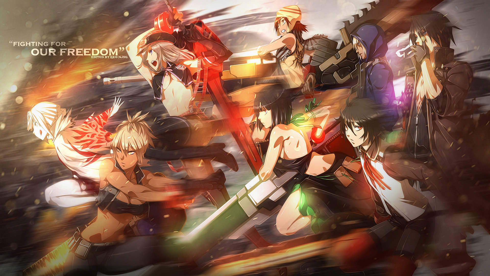 Download full hd 1920x1080 God Eater desktop background ID:409562 for free