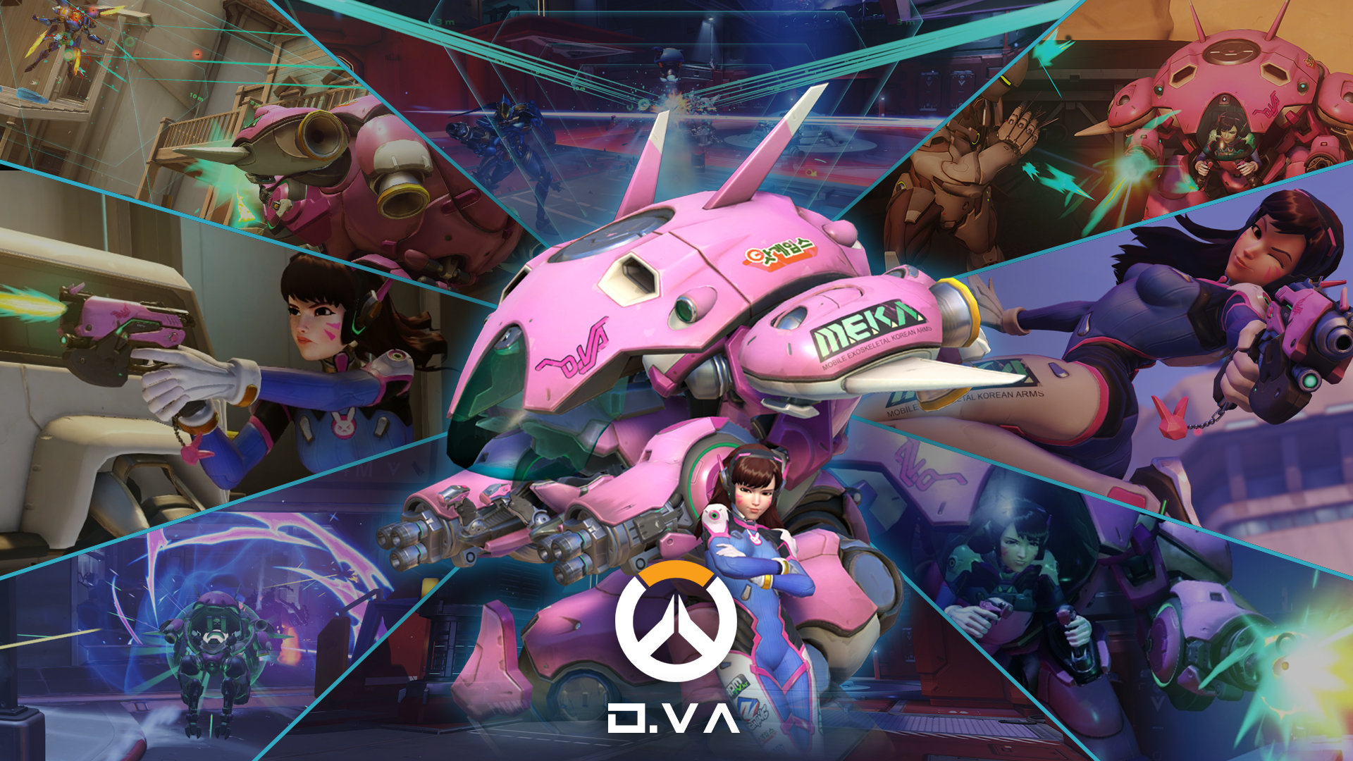Free Dva Overwatch High Quality Wallpaper Id169876 For
