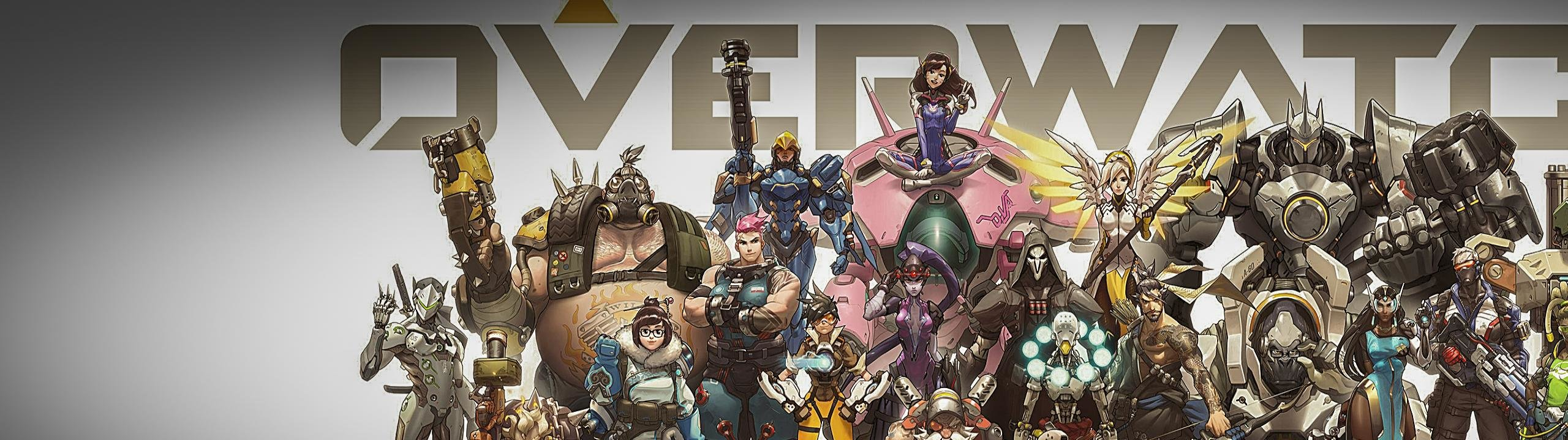 Download dual monitor 2560x720 Overwatch PC background ID:169632 for free