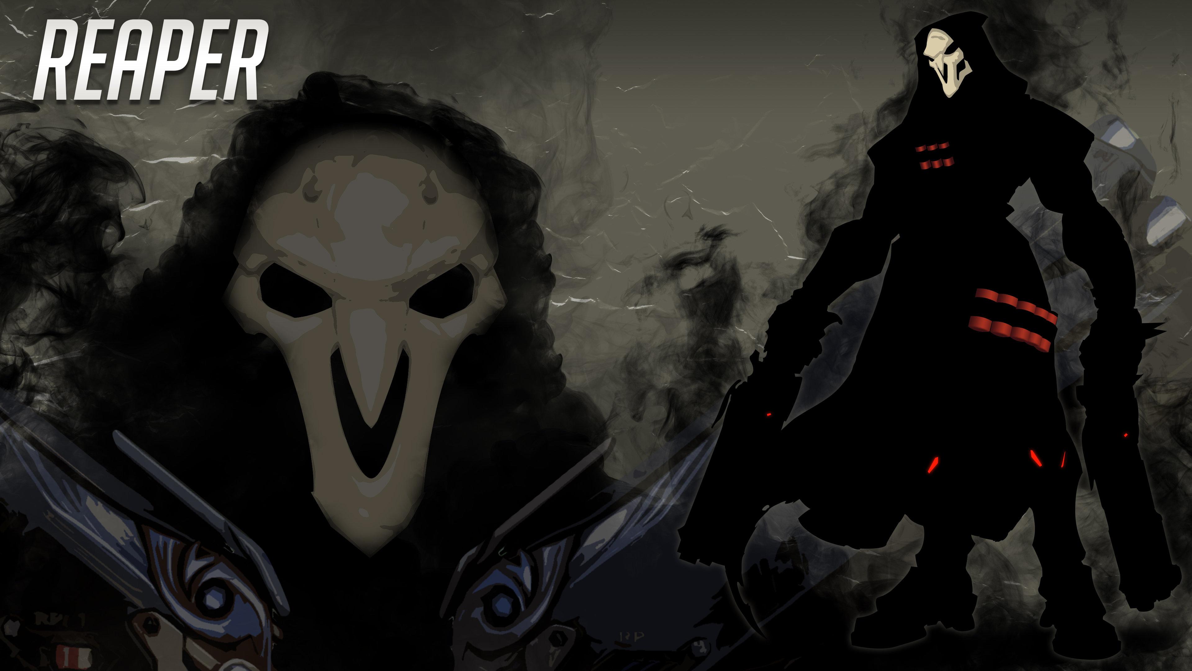 Reaper Overwatch Wallpapers 3840x2160 Ultra Hd 4k Desktop