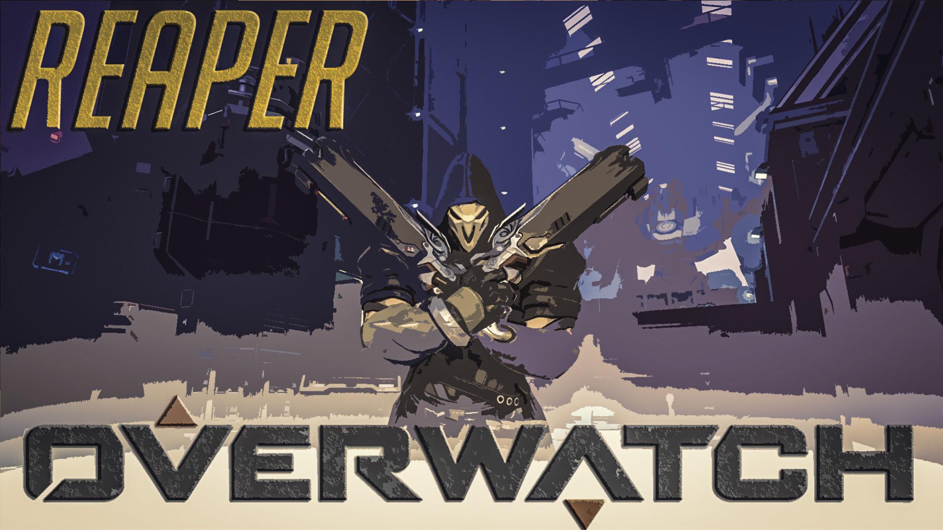 Reaper Overwatch Wallpapers Hd For Desktop Backgrounds