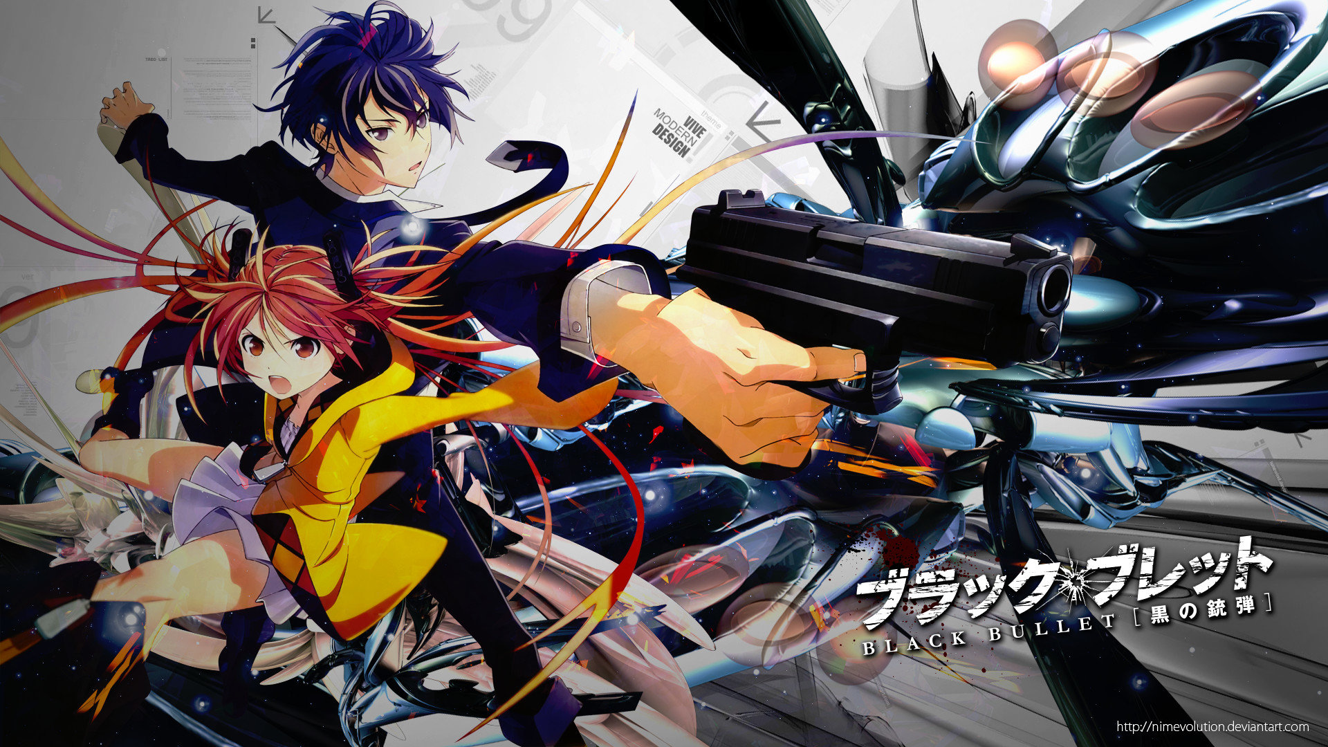 Best Black Bullet background ID:342412 for High Resolution hd 1080p PC