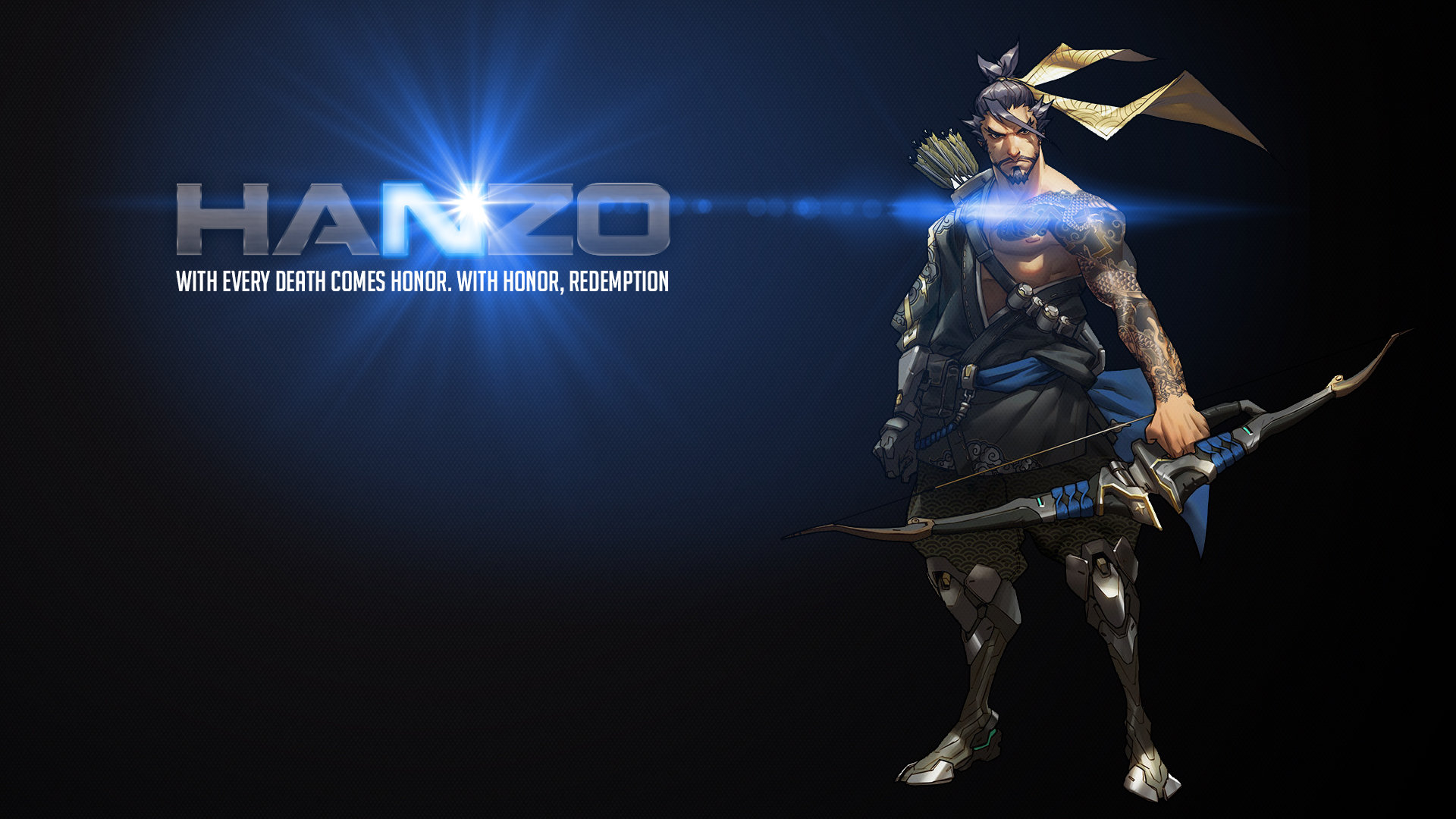 Free Hanzo (Overwatch) high quality background ID:169756 for hd 1080p PC