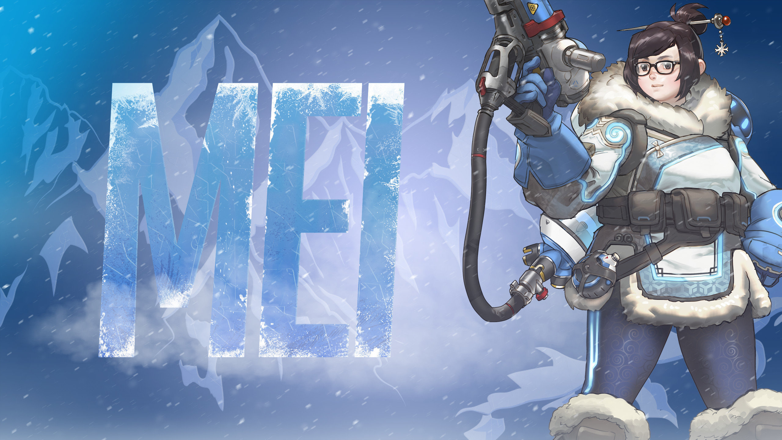 high resolution mei (overwatch) hd 2560x1440 wallpaper id:170566 for