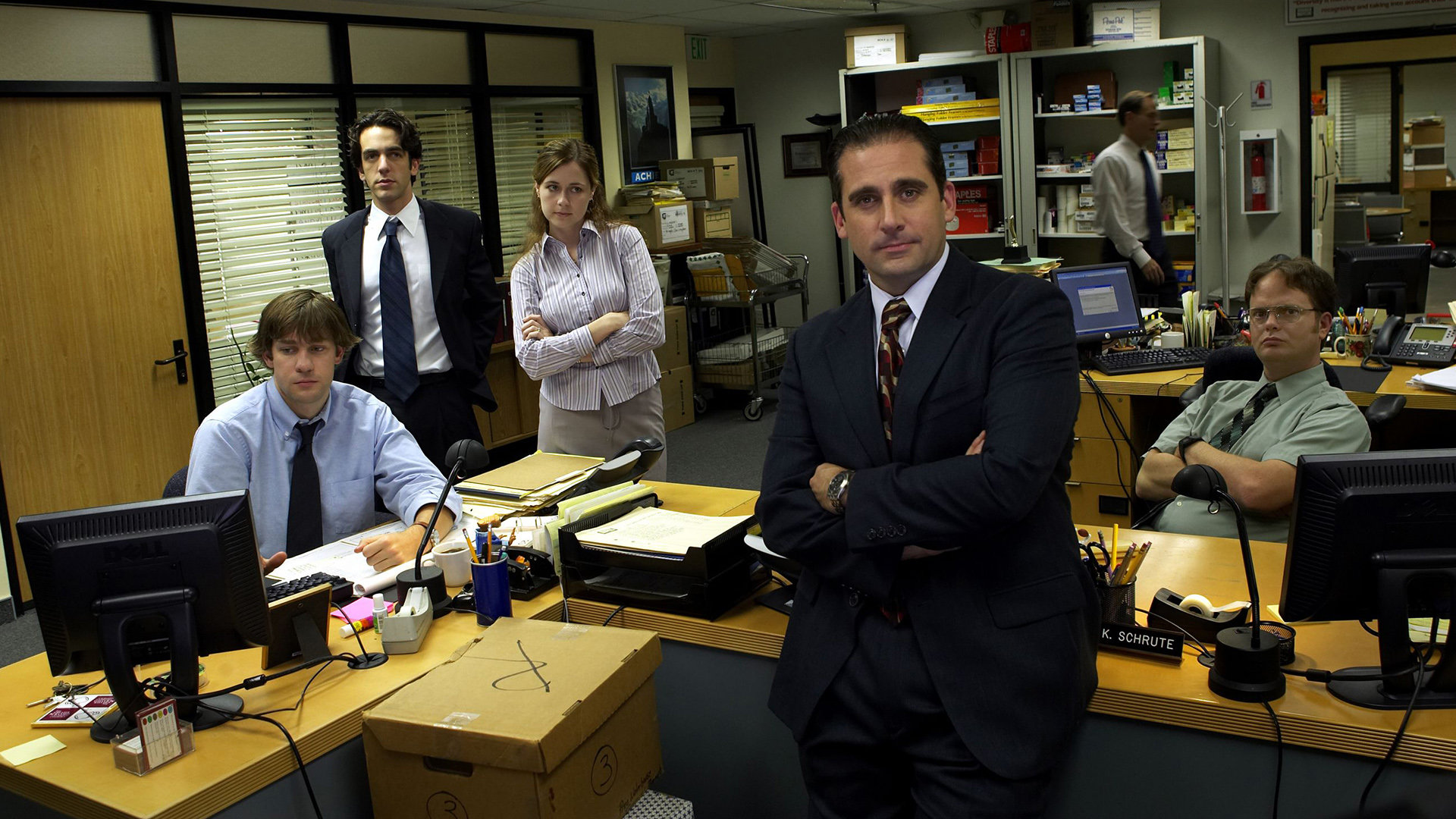 Free Download The Office Us Background Id 45996 Full Hd 1080p
