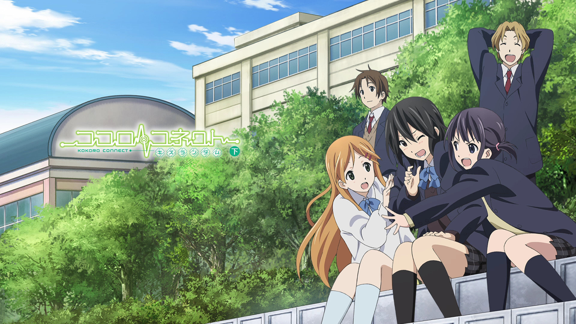 Download full hd 1920x1080 Kokoro Connect PC background ID:180212 for free
