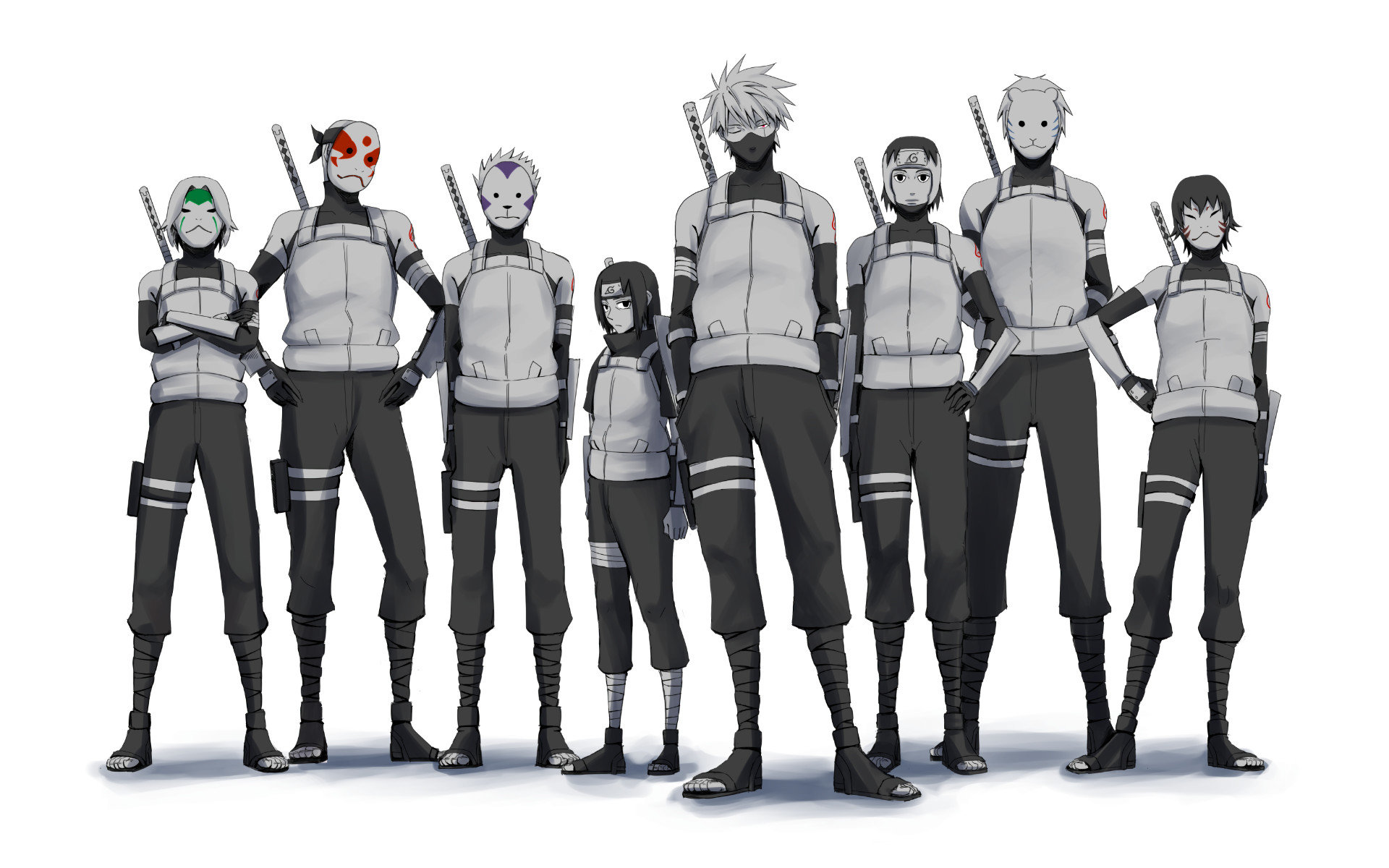 High resolution Naruto hd 1920x1200 wallpaper ID:396128 for PC