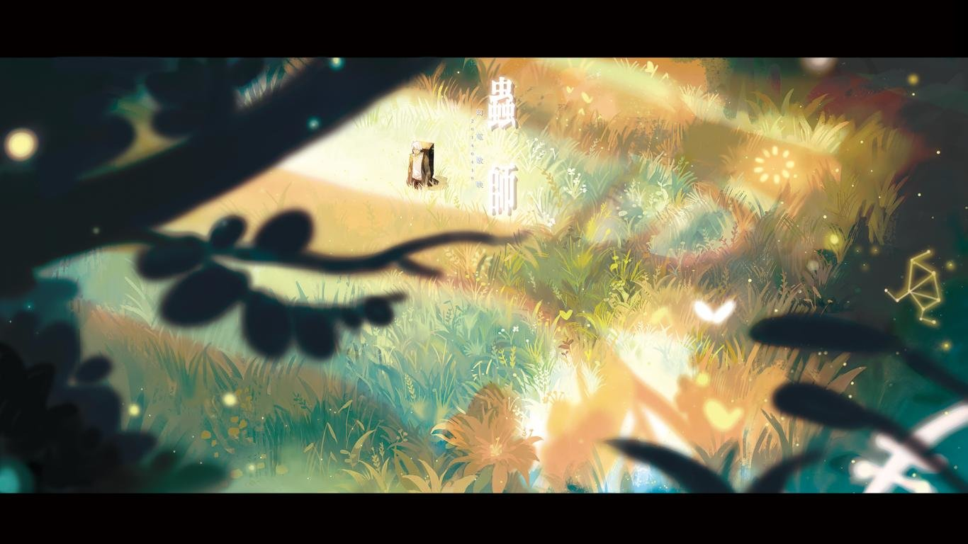 High resolution Mushishi hd 1366x768 background ID:457682 for desktop
