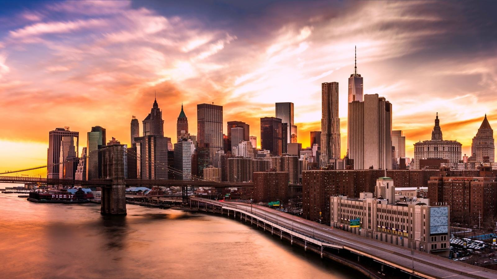 Awesome New York Free Background Id 486053 For Hd 1600x900 Desktop