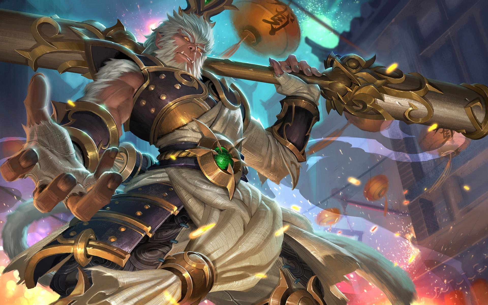 Best Wukong League Of Legends Wallpaper ID172009 For High Resolution Hd 1920x1200