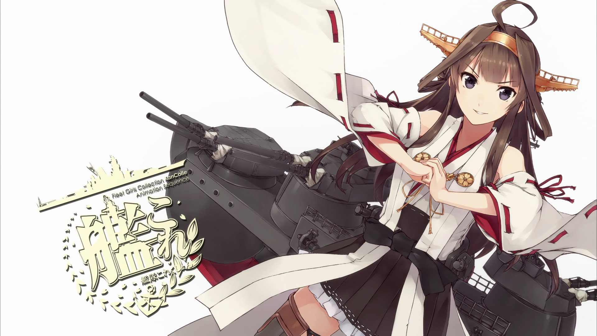 Free Kongou (Kancolle) high quality wallpaper ID:331257 for full hd desktop