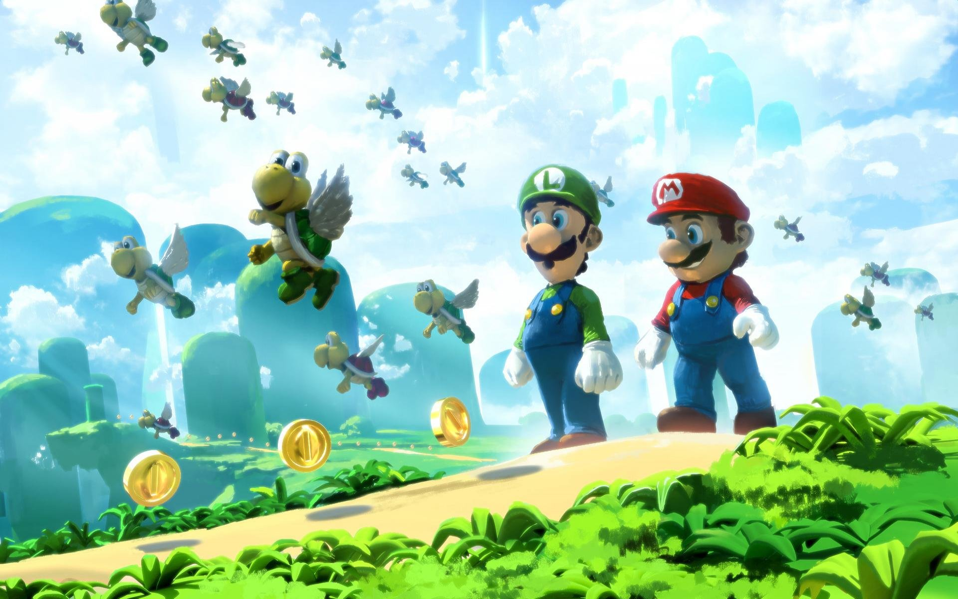 Luigi Wallpapers Hd For Desktop Backgrounds