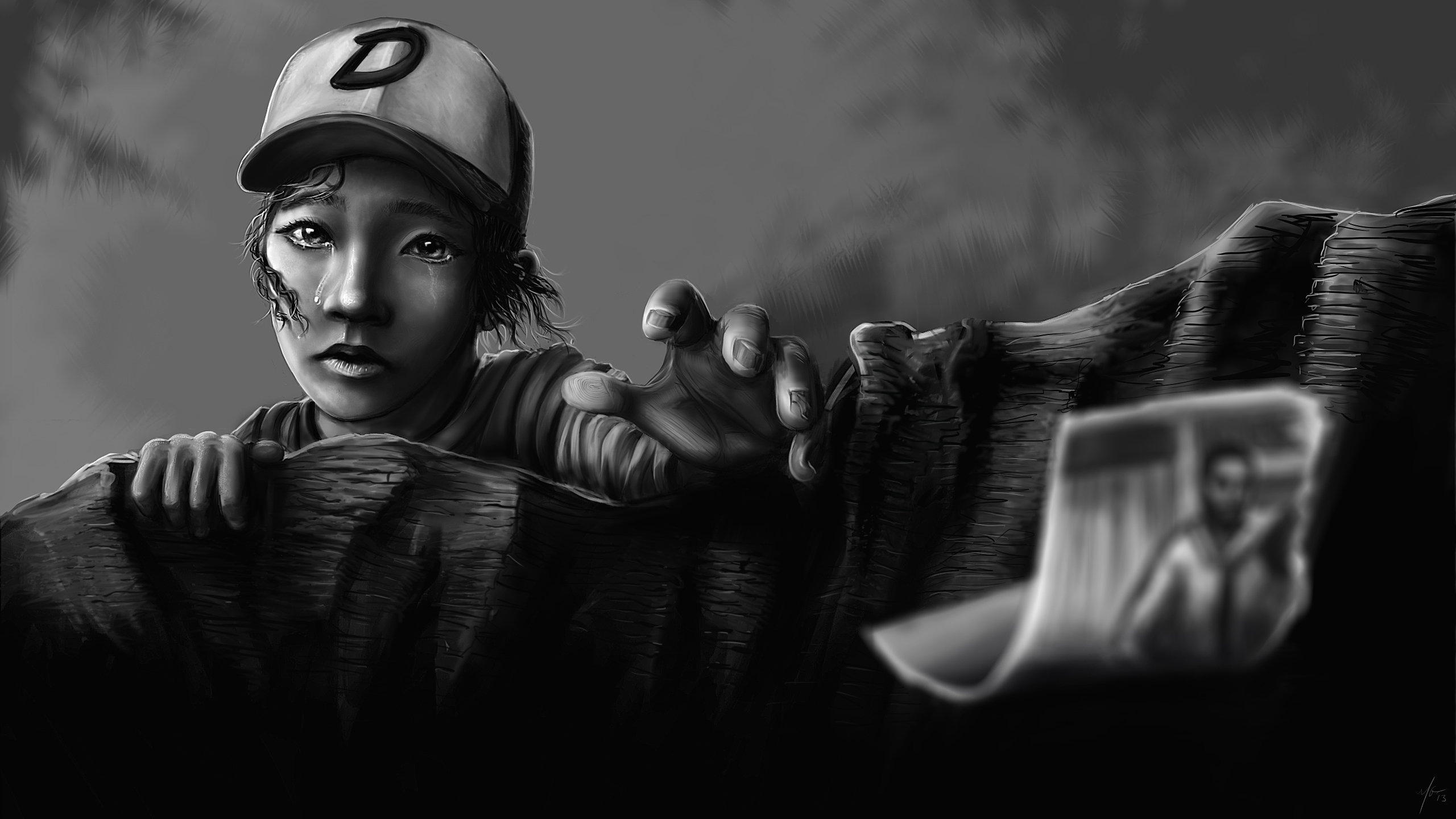 Clementine The Walking Dead Wallpapers Hd For Desktop