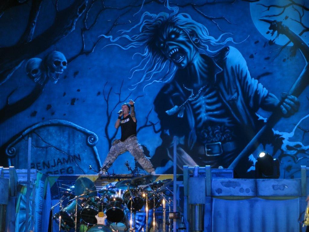 High Resolution Iron Maiden Hd 1024x768 Wallpaper ID72564 For Desktop
