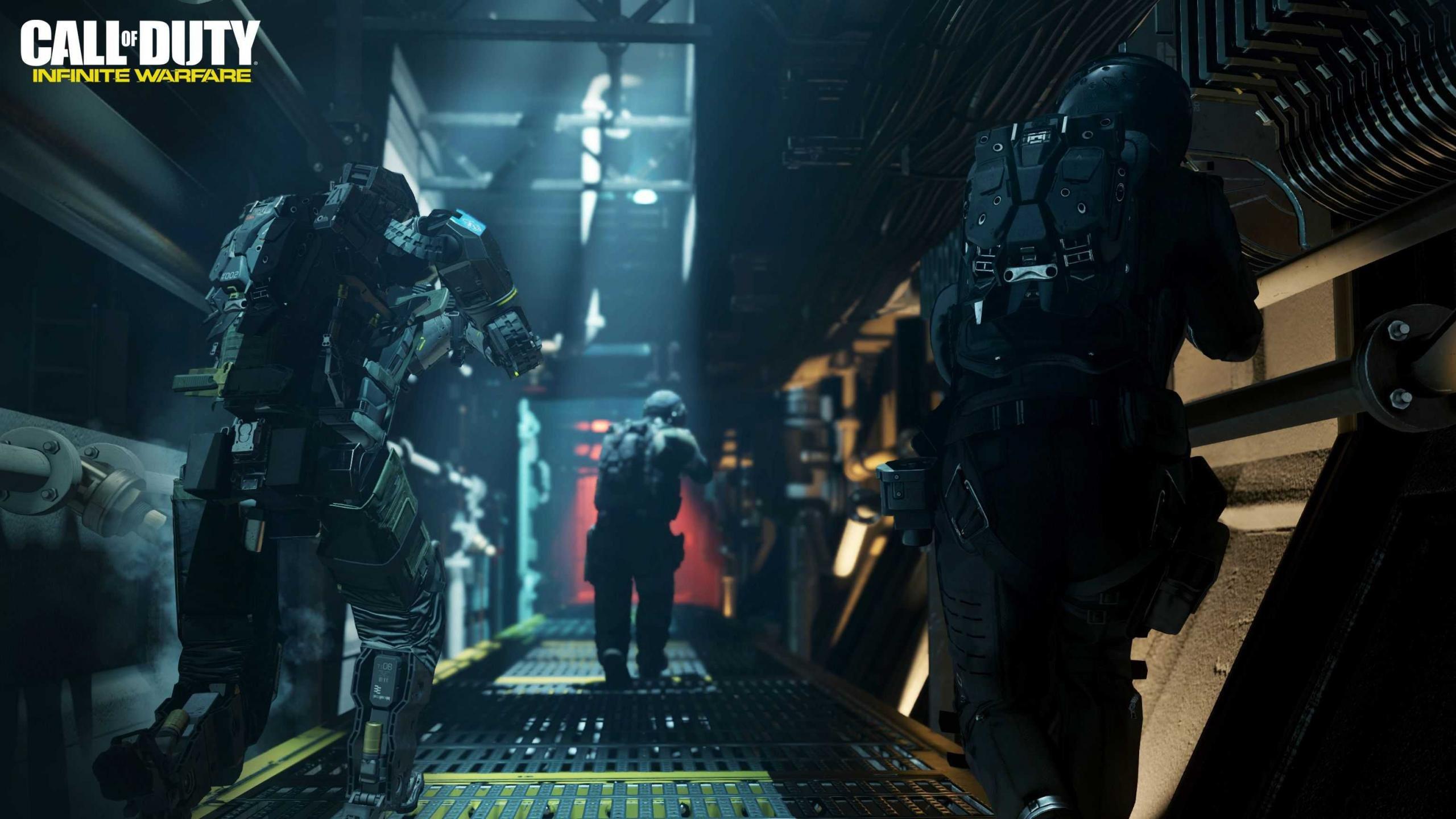 Cod Infinite Warfare Wallpaper: Call Of Duty (COD) Wallpapers 2560x1440 Desktop Backgrounds