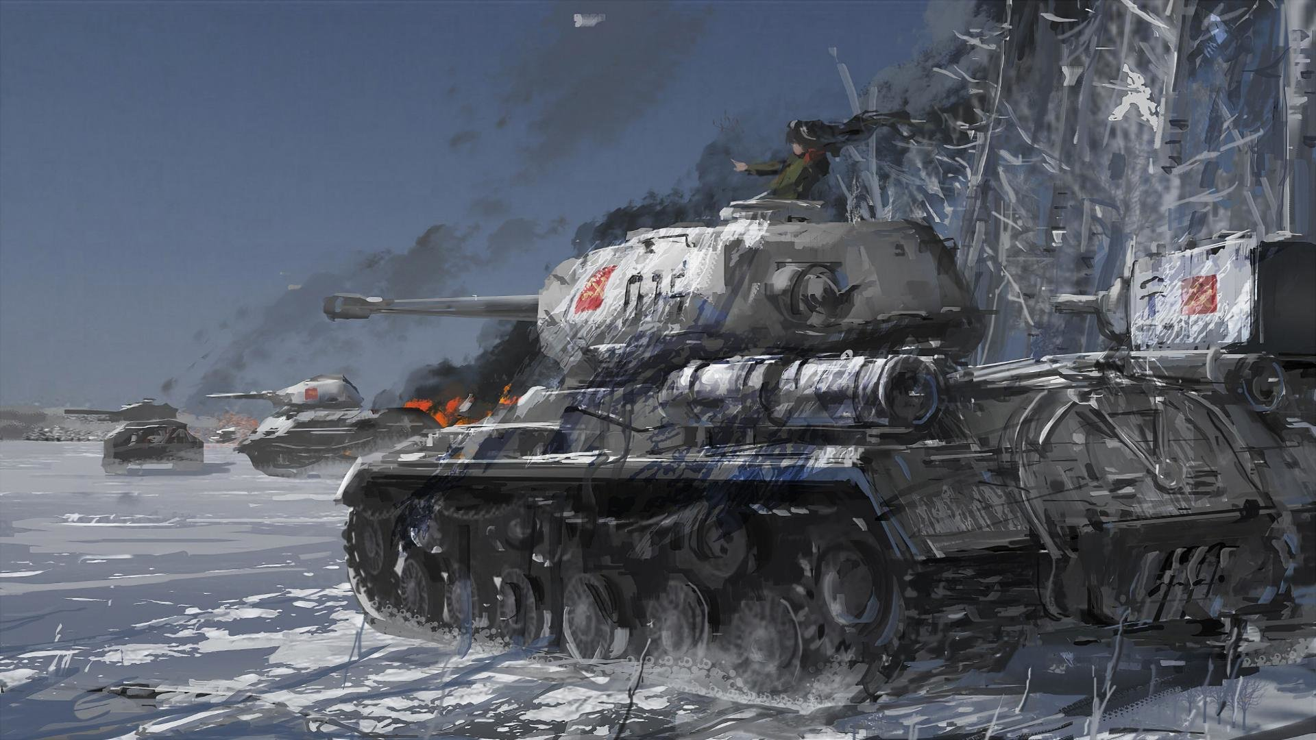 Free download Girls Und Panzer background ID:208179 hd 1920x1080 for computer