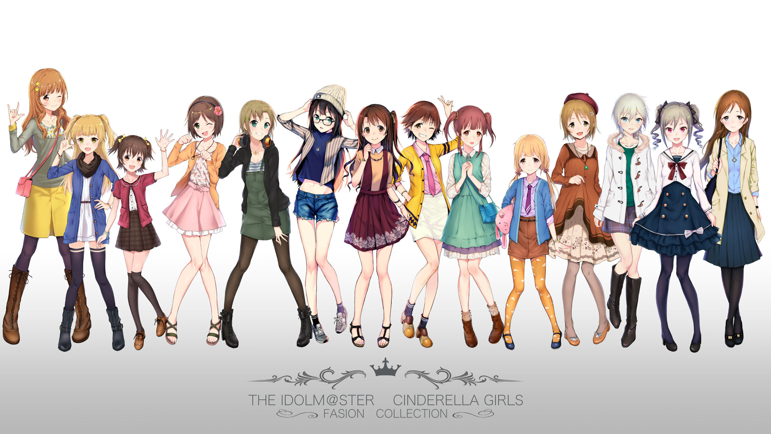 Download hd 2560x1440 IDOLM@STER Cinderella Girls desktop background ID:446750 for free