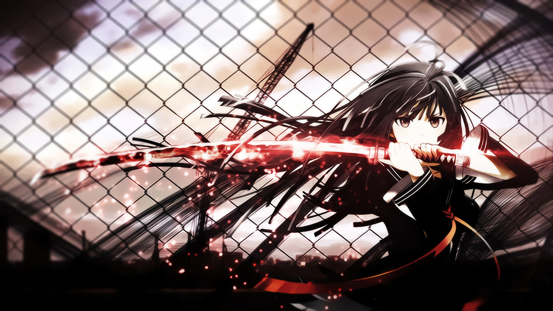 Free download Black Bullet background ID:342411 full hd 1080p for PC