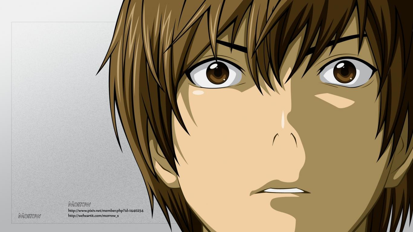 Awesome Light Yagami free background ID:402596 for laptop desktop