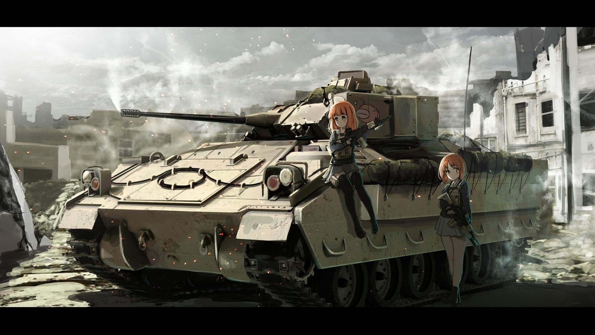 High resolution Girls Und Panzer hd 2048x1152 background ID:208230 for desktop