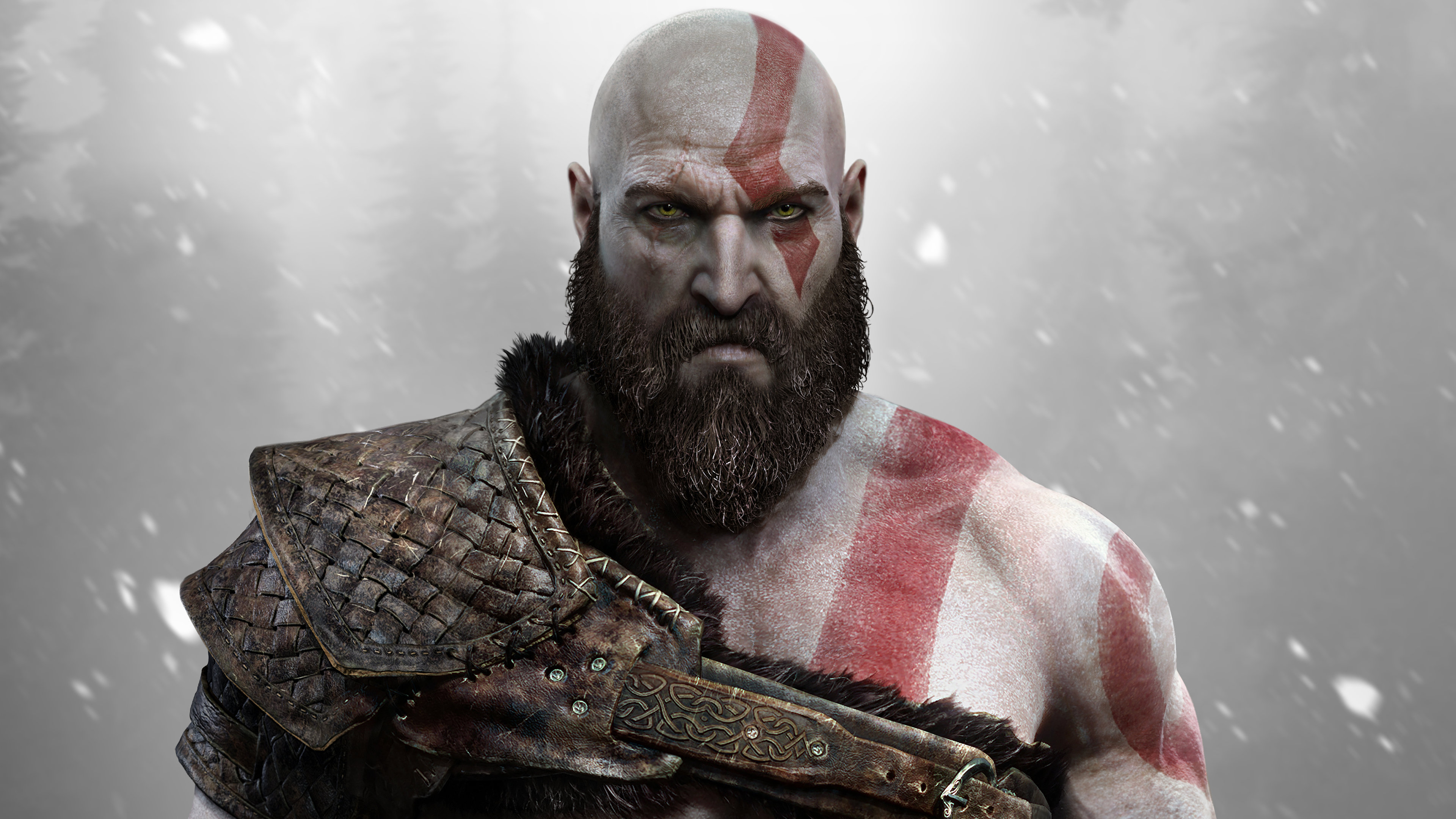 Download 4k God Of War 4 computer background ID:70186 for free