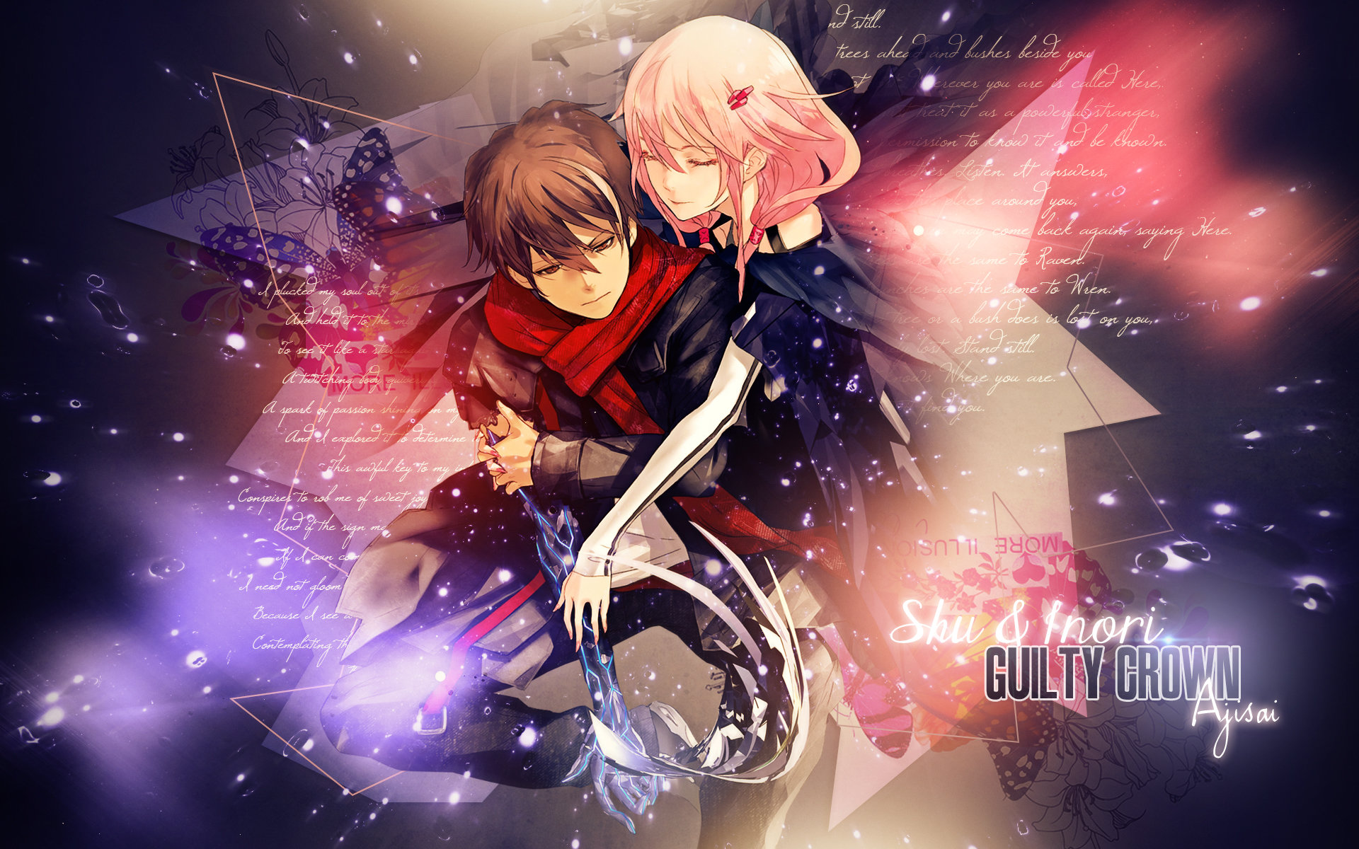 Download hd 1920x1200 Guilty Crown desktop wallpaper ID:254529 for free