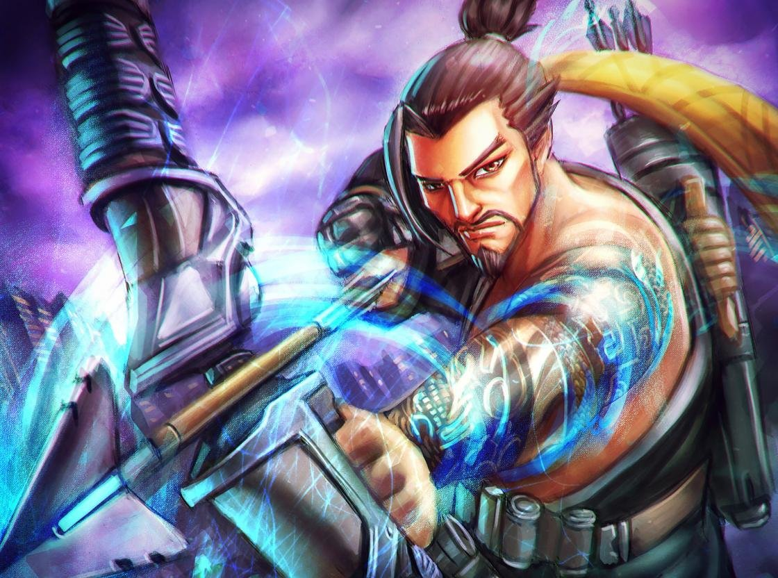 Best Hanzo Overwatch Wallpaper Id170356 For High
