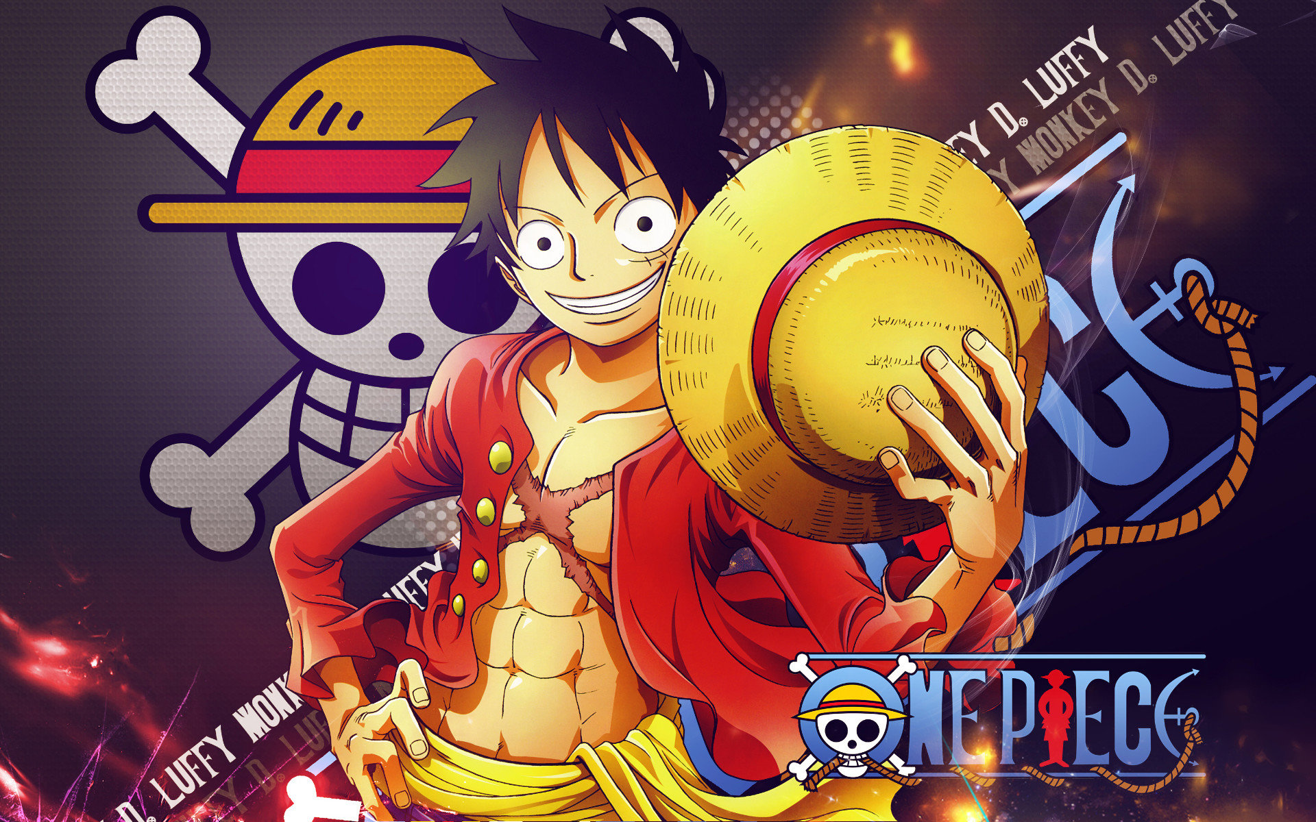 Free Monkey D. Luffy high quality wallpaper ID:314123 for hd 1920x1200 computer