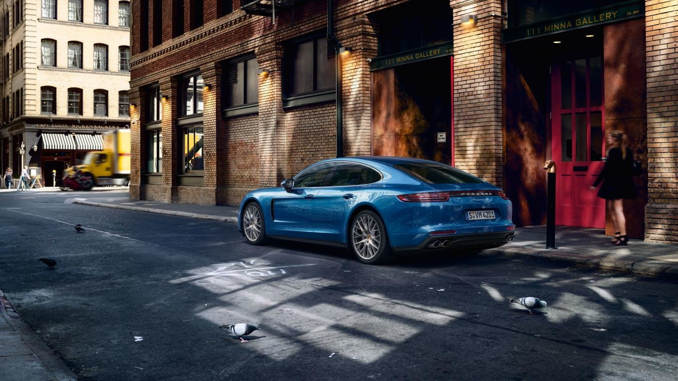 High resolution Porsche Panamera hd 1366x768 background ID:27824 for computer