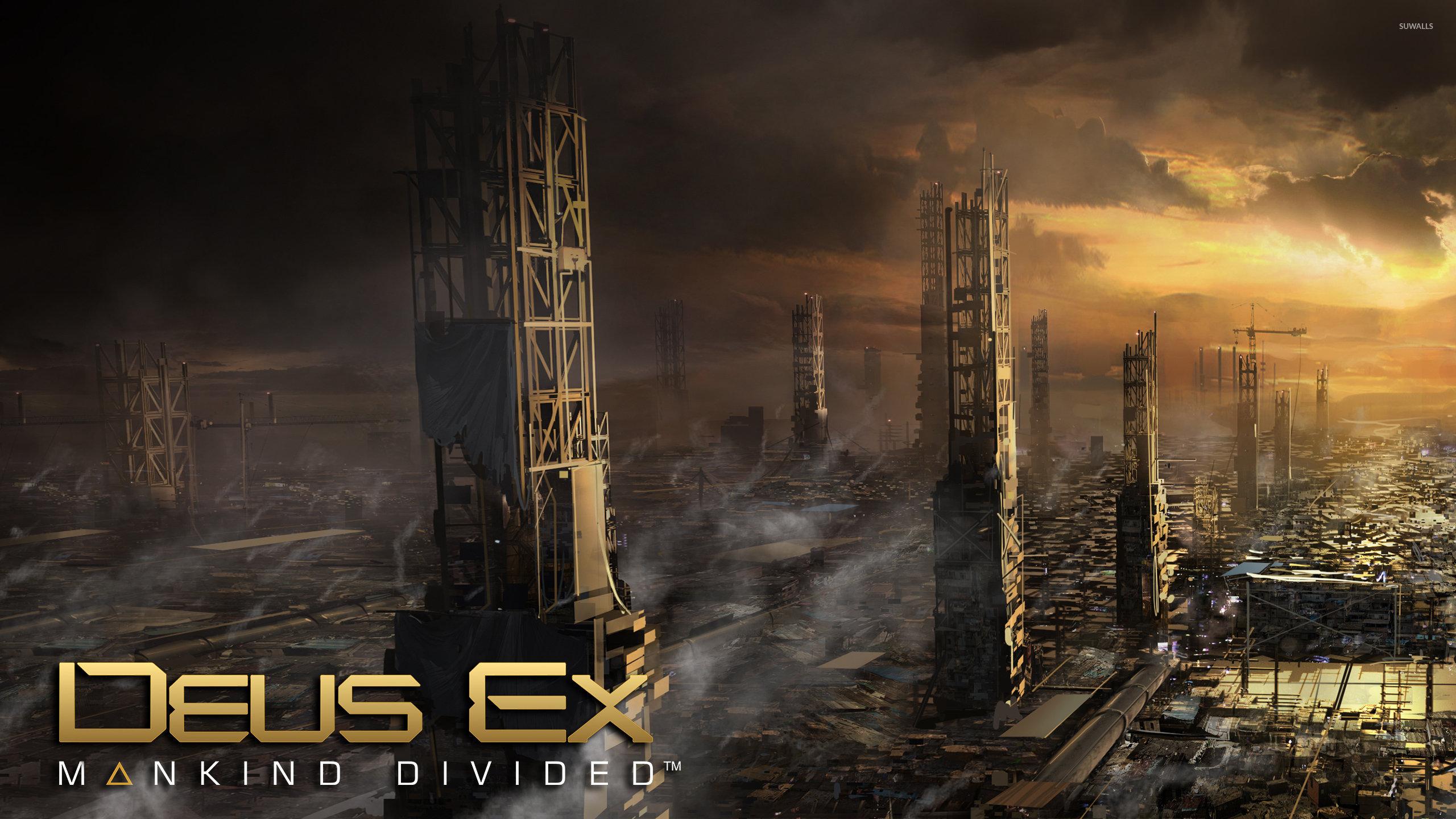 Deus Ex Mankind Divided Wallpaper: Deus Ex: Mankind Divided Wallpapers 2560x1440 Desktop