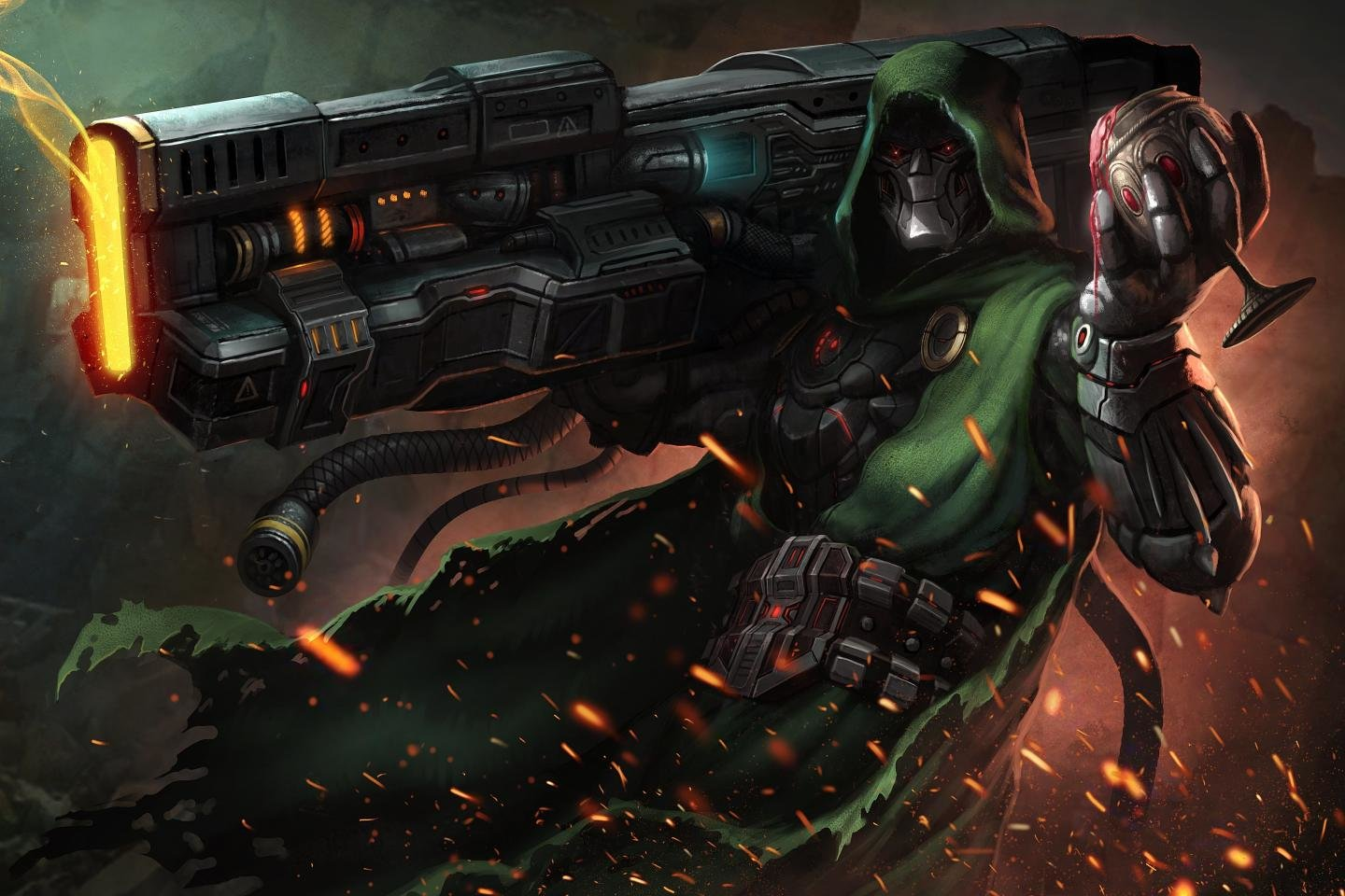 High resolution Doctor Doom hd 1440x960 wallpaper ID:234095 for desktop