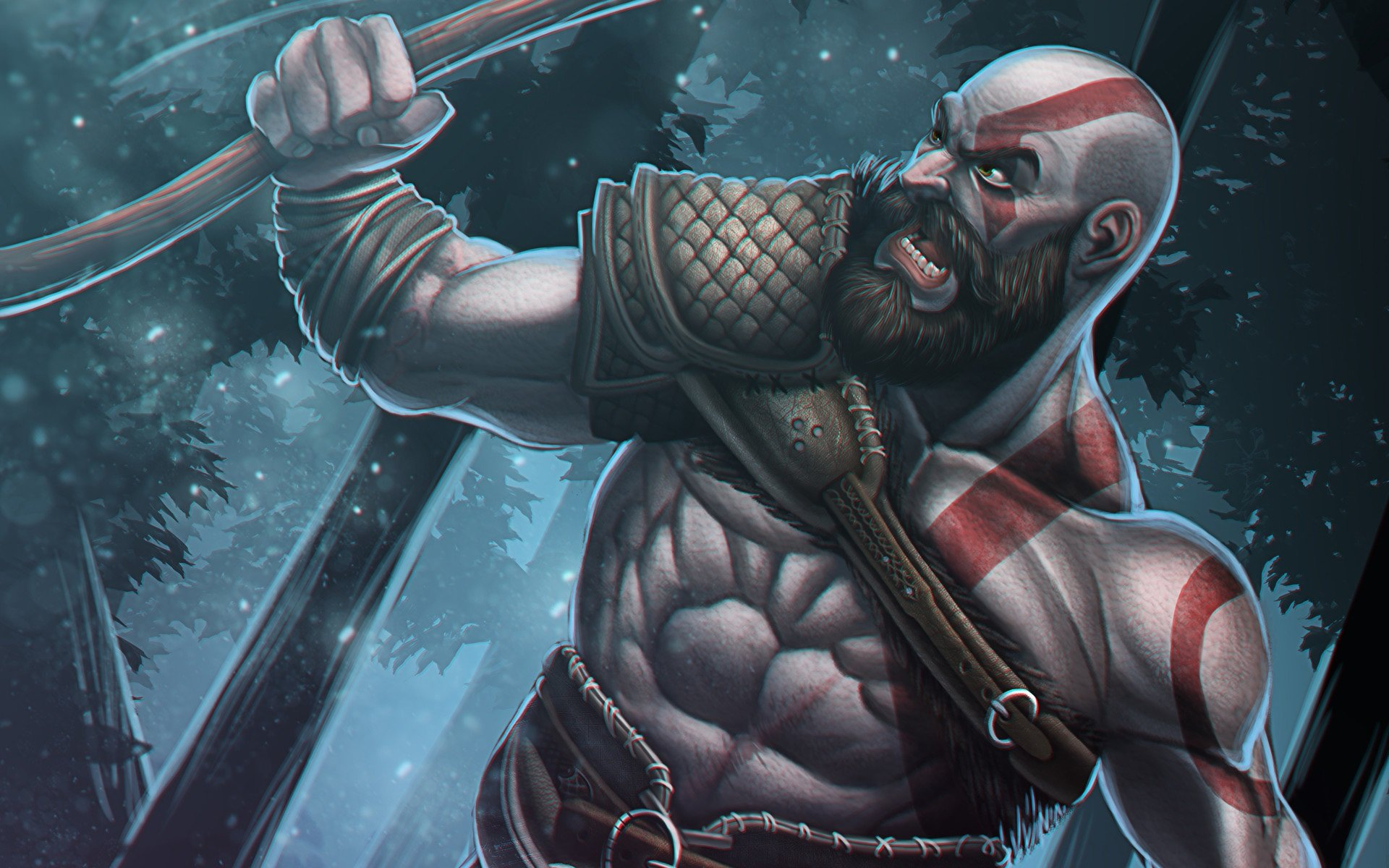 Kratos God Of War Wallpapers 1920x1200 Desktop Backgrounds
