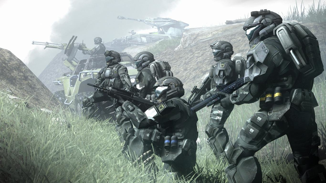 Download Hd 1366x768 Halo 3 Odst Computer Wallpaper Id 243019 For