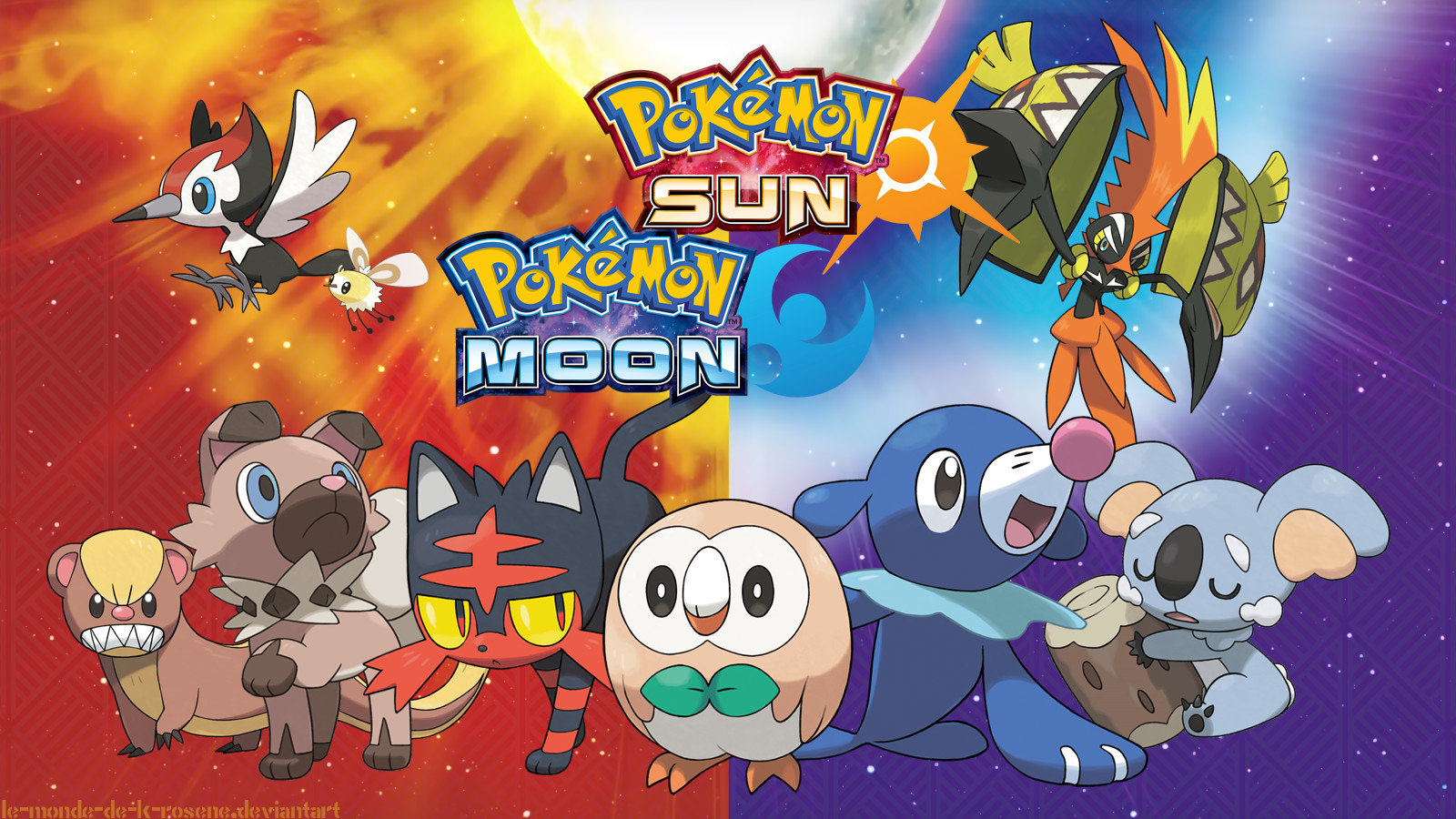 Pokemon Sun And Moon Wallpapers 1600x900 Desktop Backgrounds