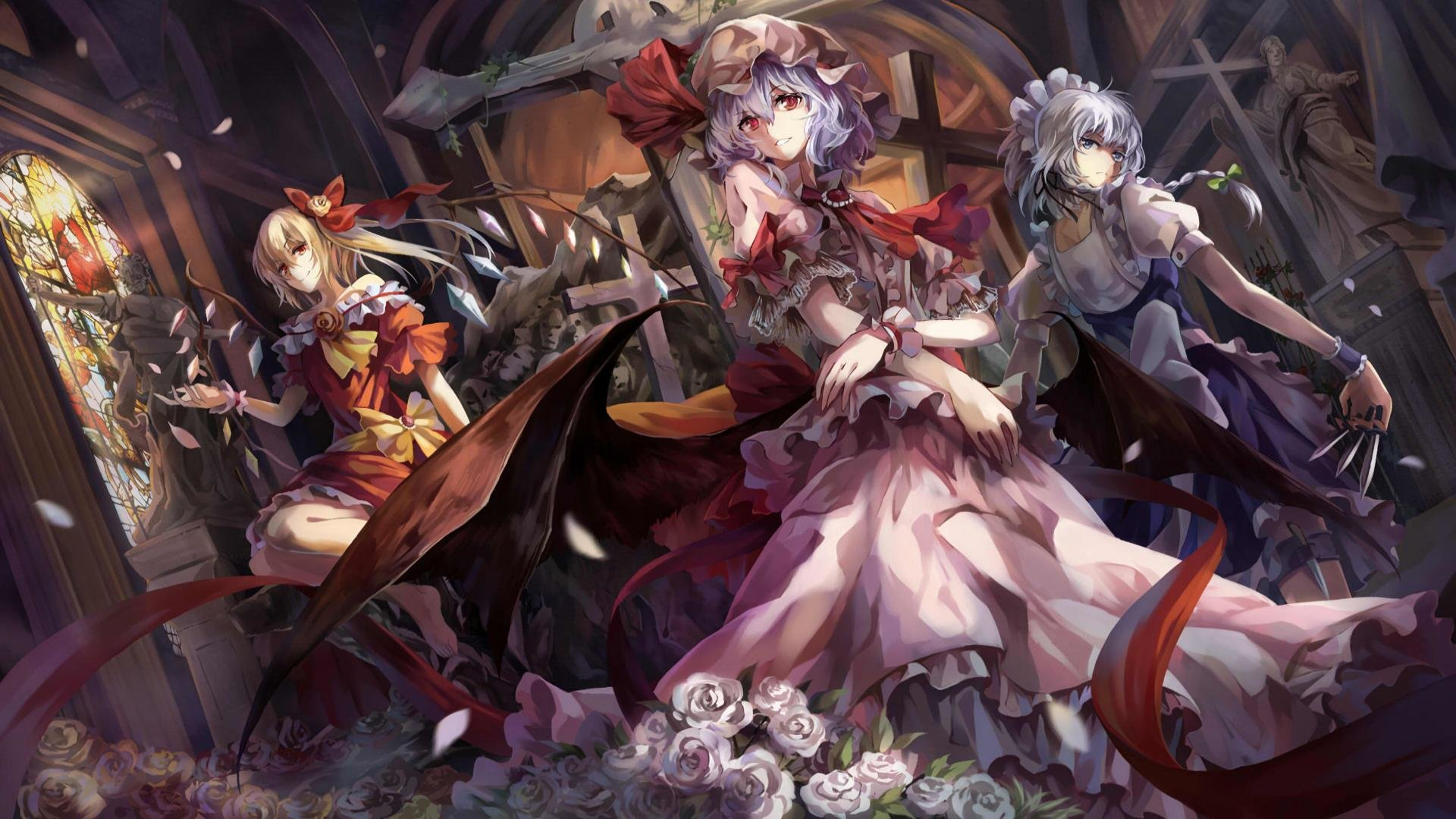 Download full hd 1920x1080 Touhou PC wallpaper ID:220059 for free