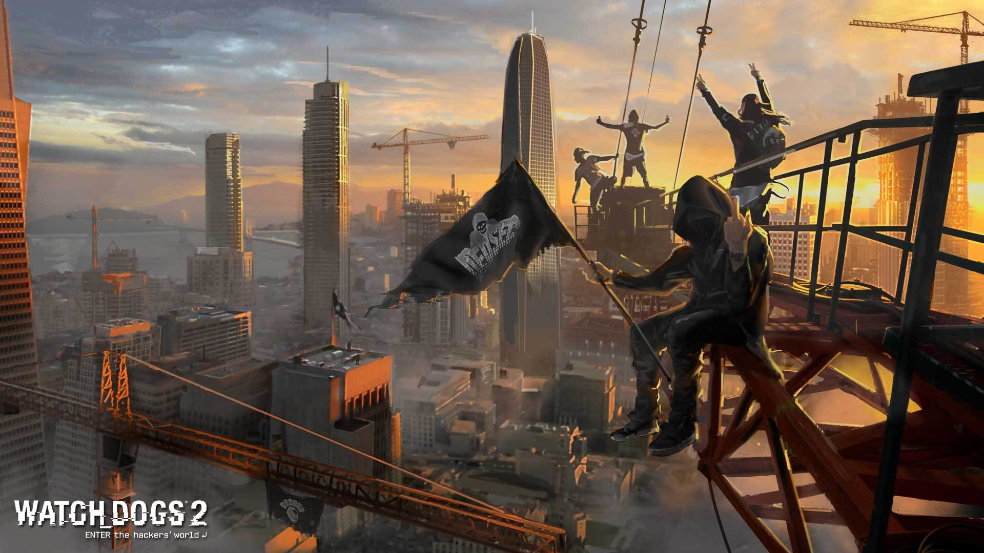 Watch Dogs 2 Wallpapers 1920x1080 Full Hd 1080p Desktop Backgrounds